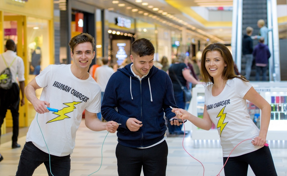 Pokemon Go shopping lanes and friendly charger facilitators (Nick Ponty)