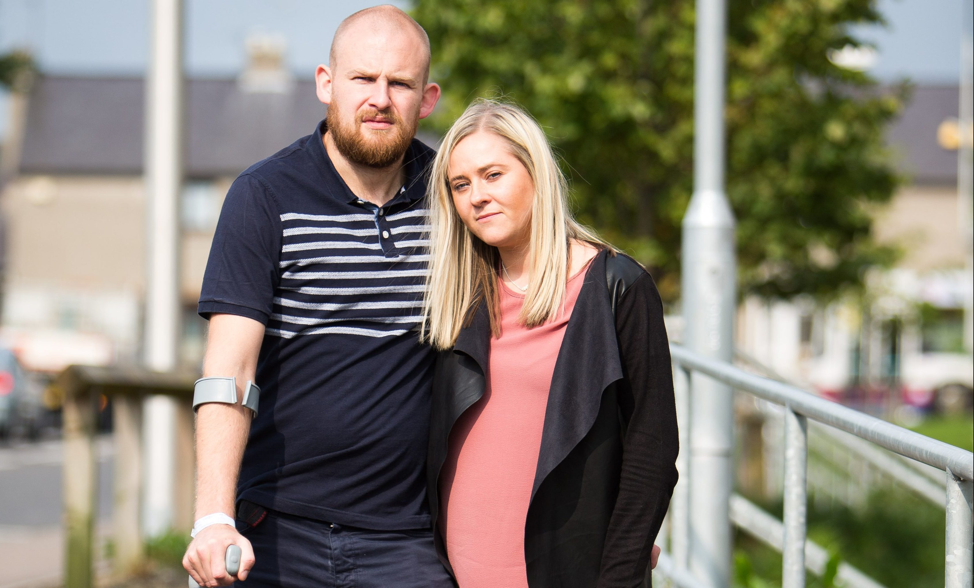 Paul Forbes has a mystery illness, he went from fit to paralysed from the waist down in an afternoon (Ross Johnston/Newsline Media)