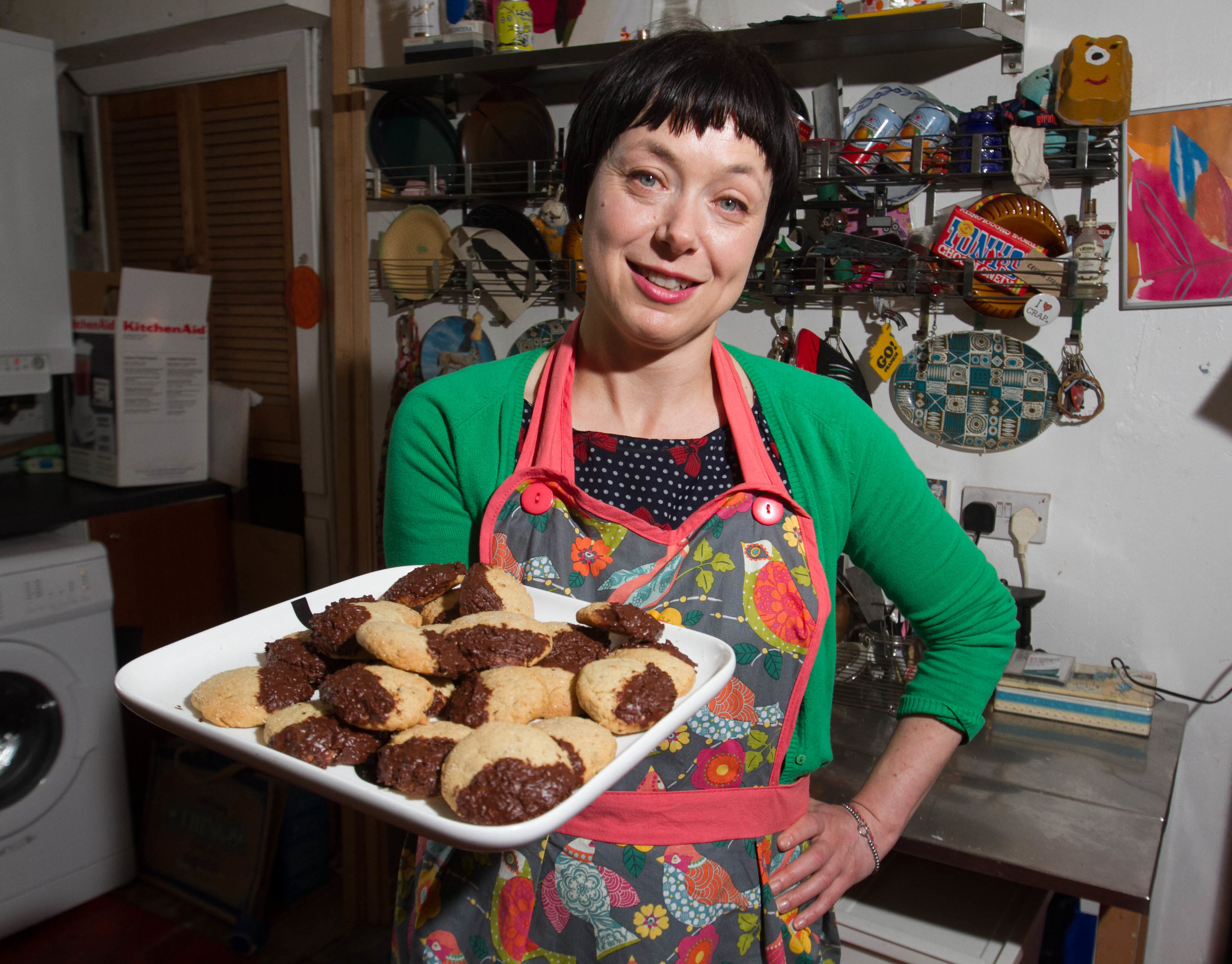 Gail Rainey makes cookies she learnt as child at school every year (Chris Austin/DC Thomson)