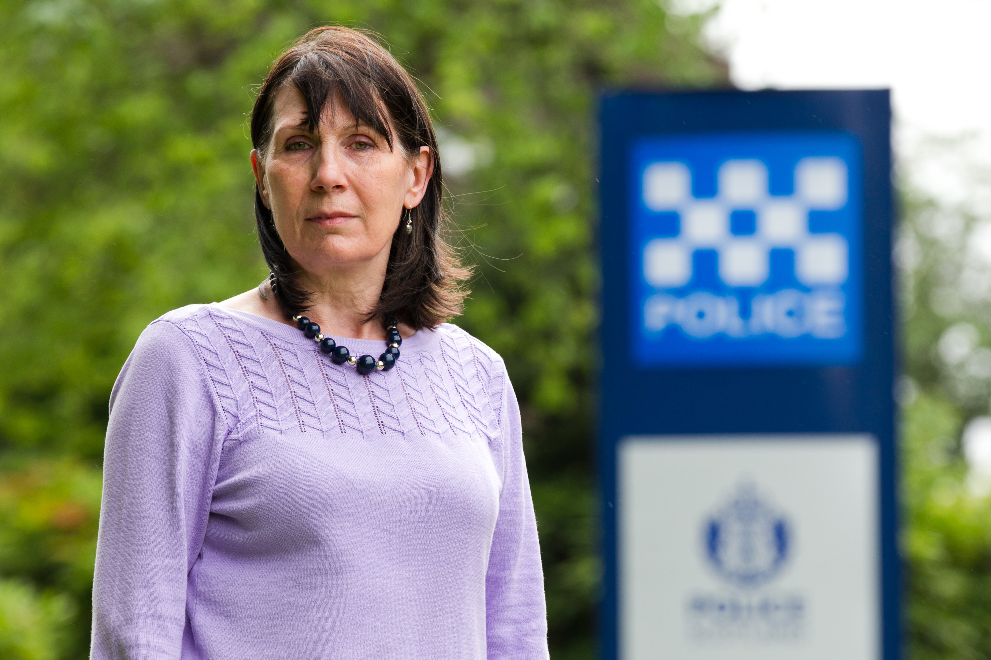 Jennifer Phibb had to wait for nearly an hour for police to come to her home (Andrew Cawley / DC Thomson)