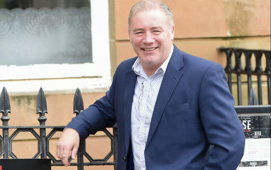 Former Rangers striker Ally McCoist (SNS Group / Craig Williamson)