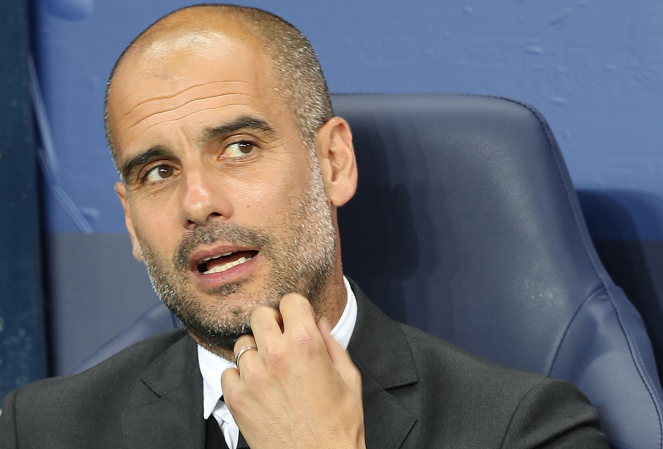 Manchester City manager Pep Guardiola (Martin Rickett/PA Wire)