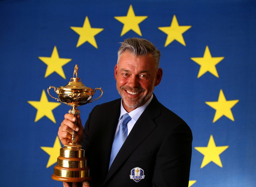 European Ryder Cup Captain Darren Clarke (Richard Heathcote/Getty Images)