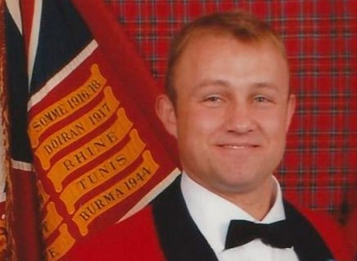 Former Black Watch solder Michael Ross
