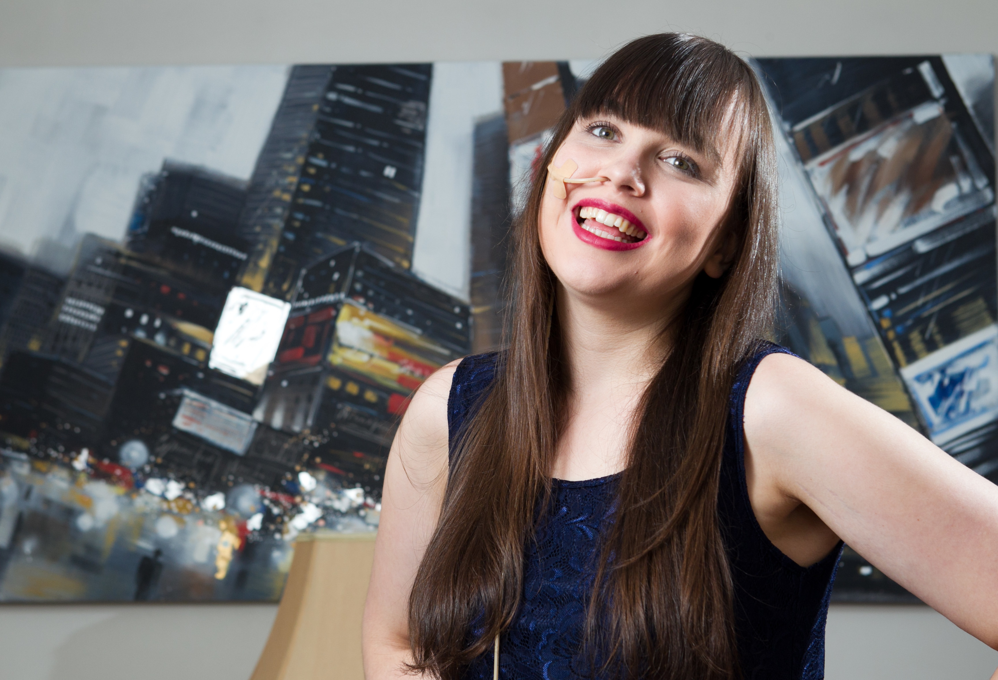 Nicole Gray, who is going to enter a beauty queen contest (Andrew Cawley/DC Thomson)