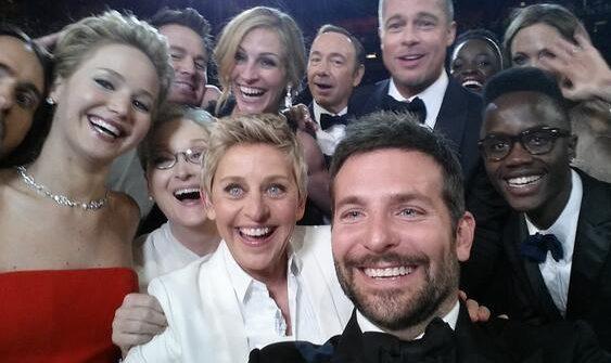 Ellen's famous Oscars selfie