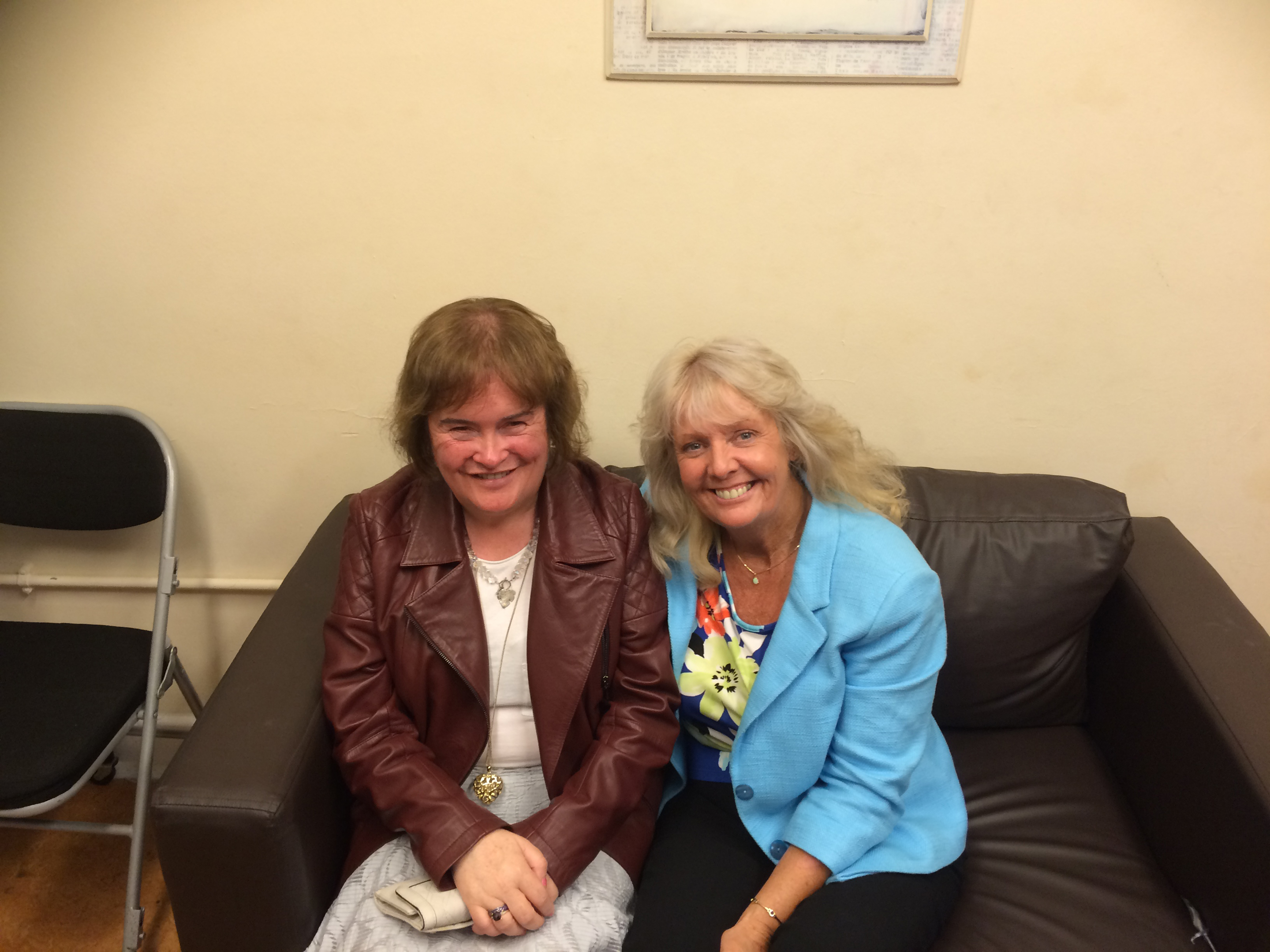 June Field and Susan Boyle