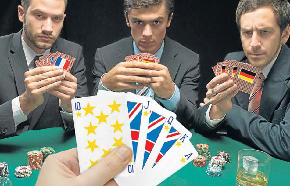 It's OK keeping your cards close to your chest, like the UK at the Brexit negotiating table, but you can only pull it off for so long without raising suspicion (Alamy)