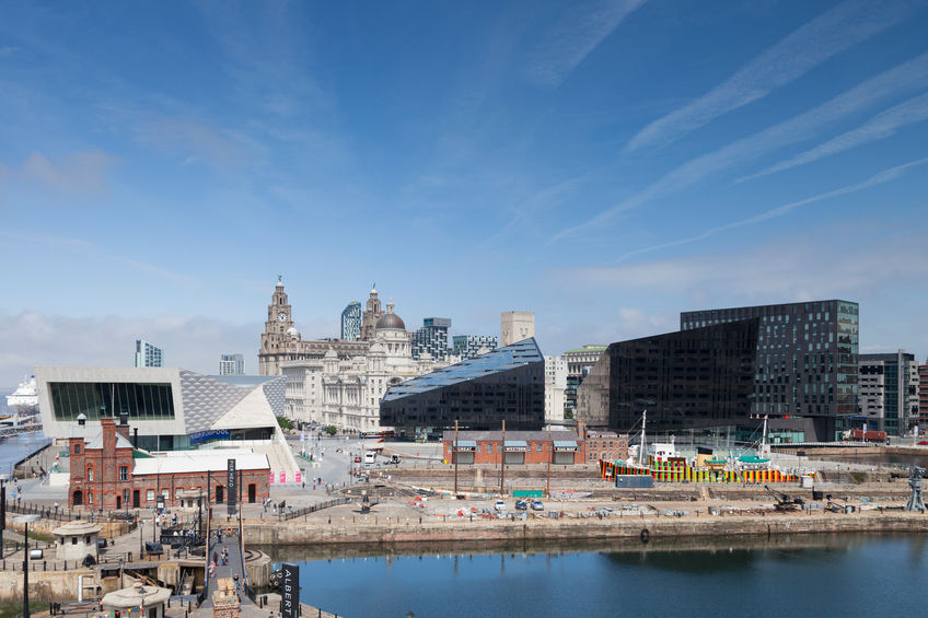 Liverpool Pier Head and the Albert Dock (Getty)