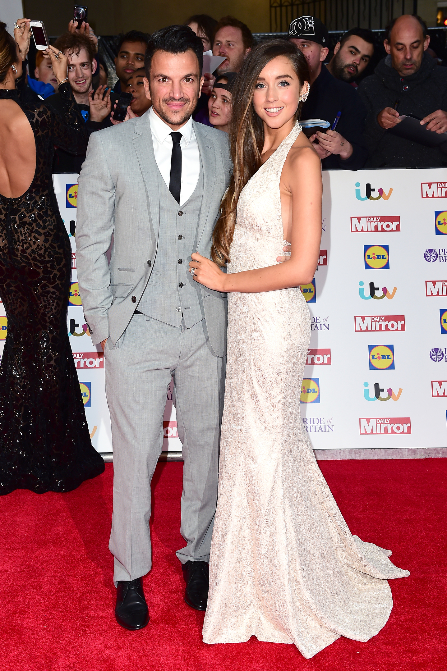 Peter Andre and Emily MacDonagh (PA)