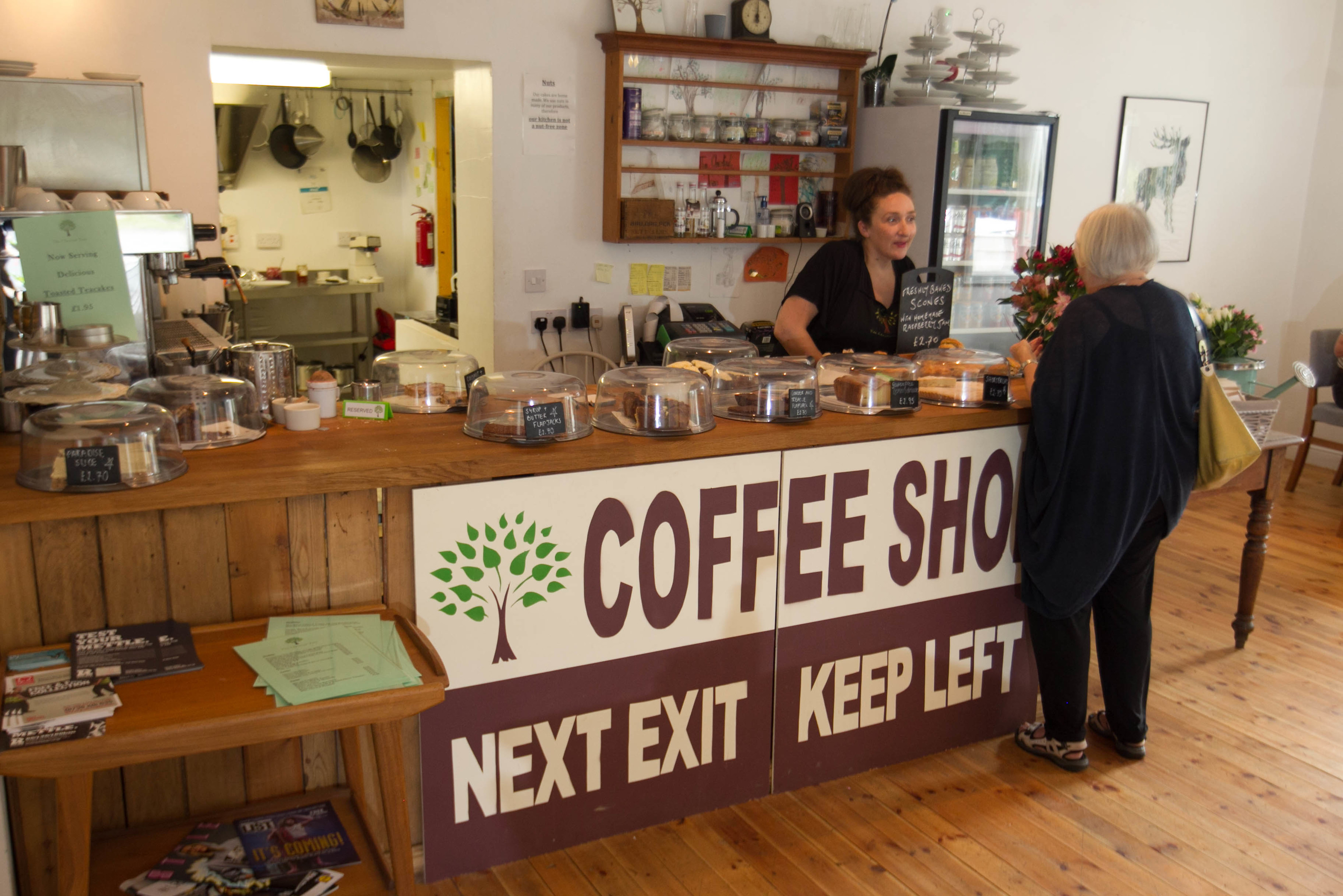 Chestnut Tree coffee shop in Glencarse (Chris Austin/DC Thomson)