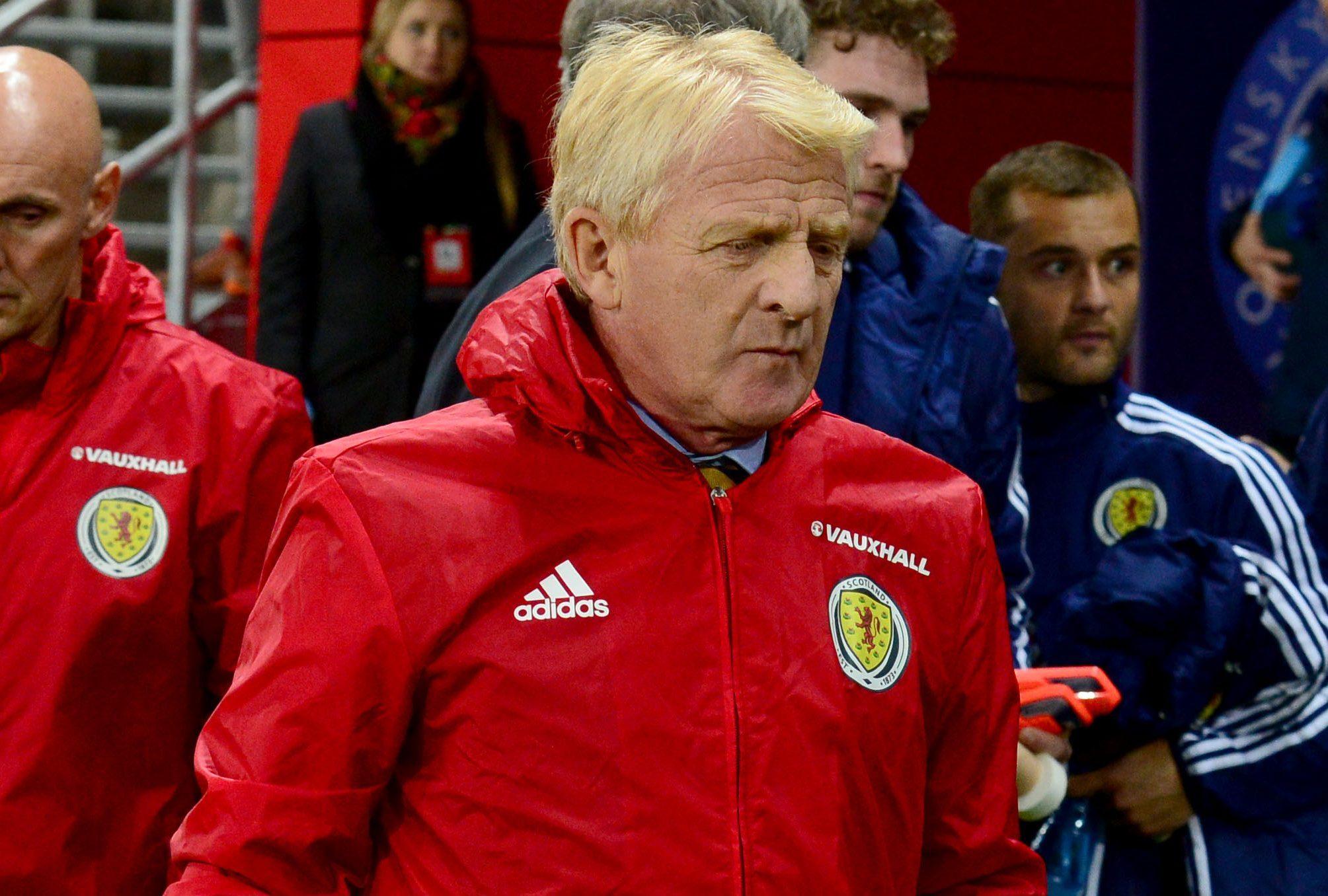 Scotland manager Gordon Strachan (SNS Group / Alan Harvey)