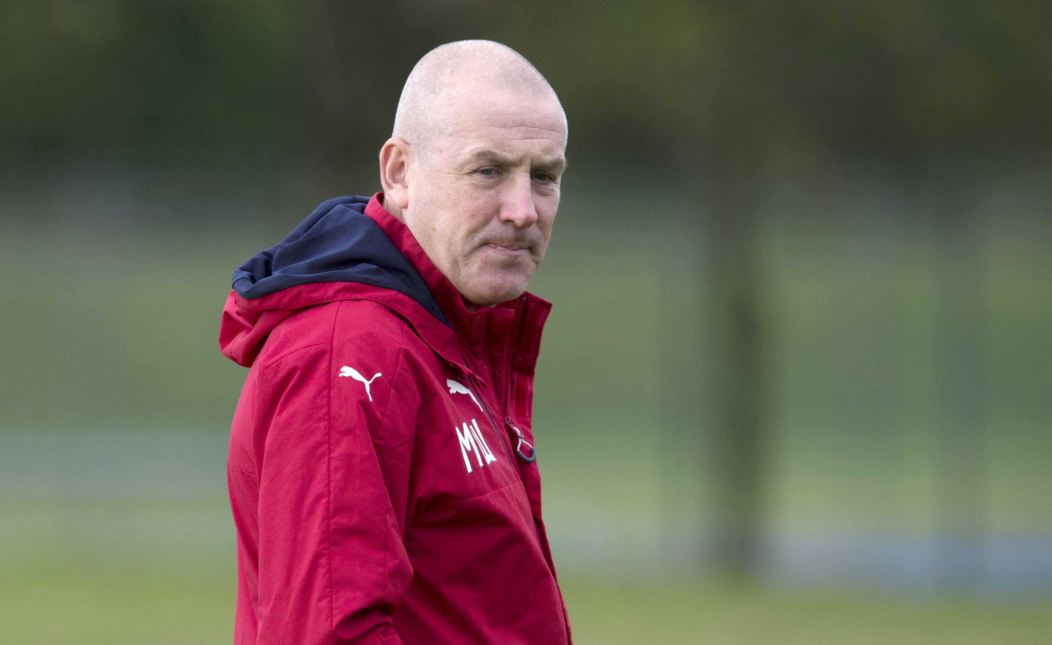 Rangers manager Mark Warburton (SNS Group / Craig Foy)