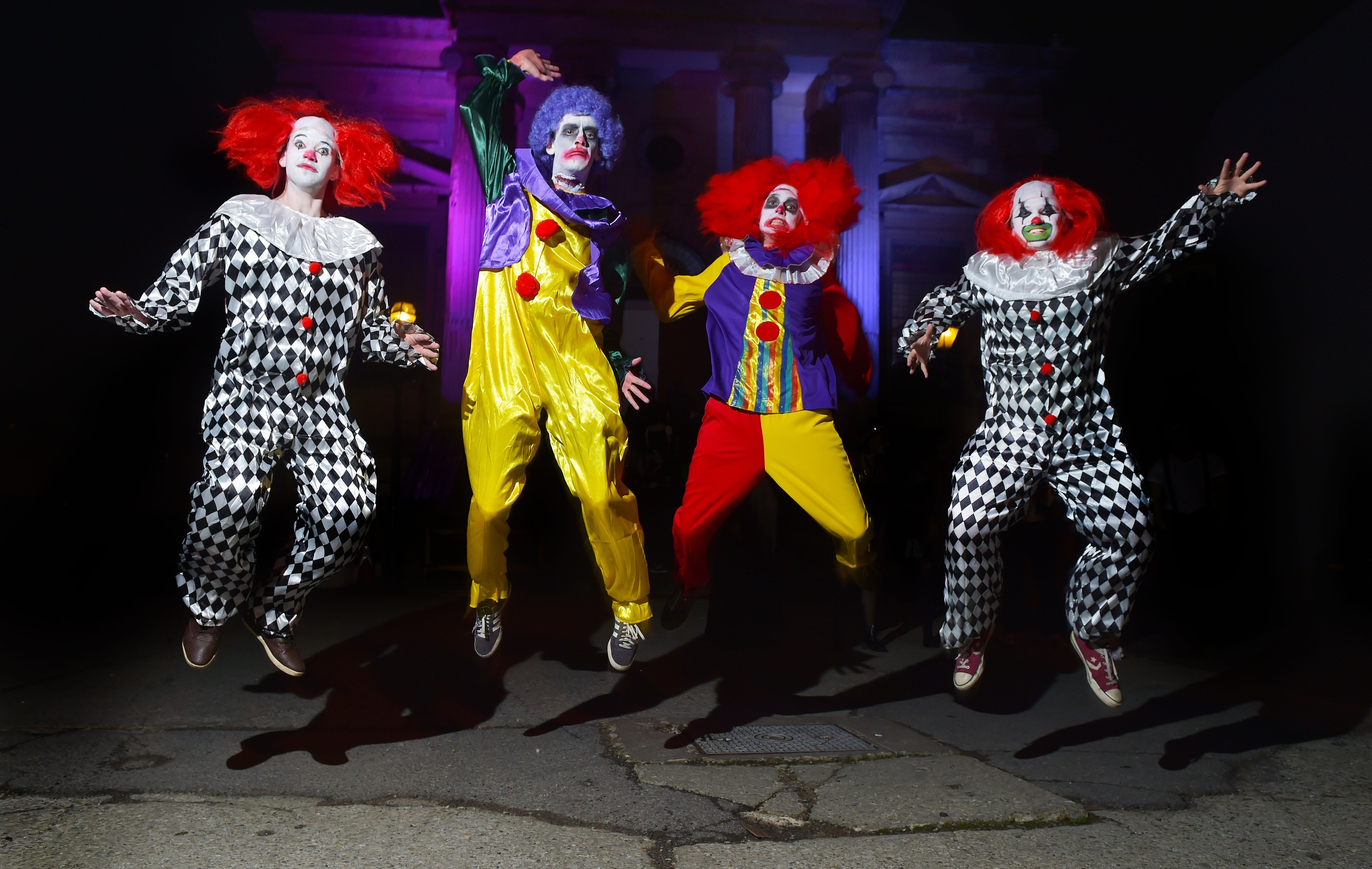 Many people have a phobia of clowns (Charles McQuillan/Getty Images)