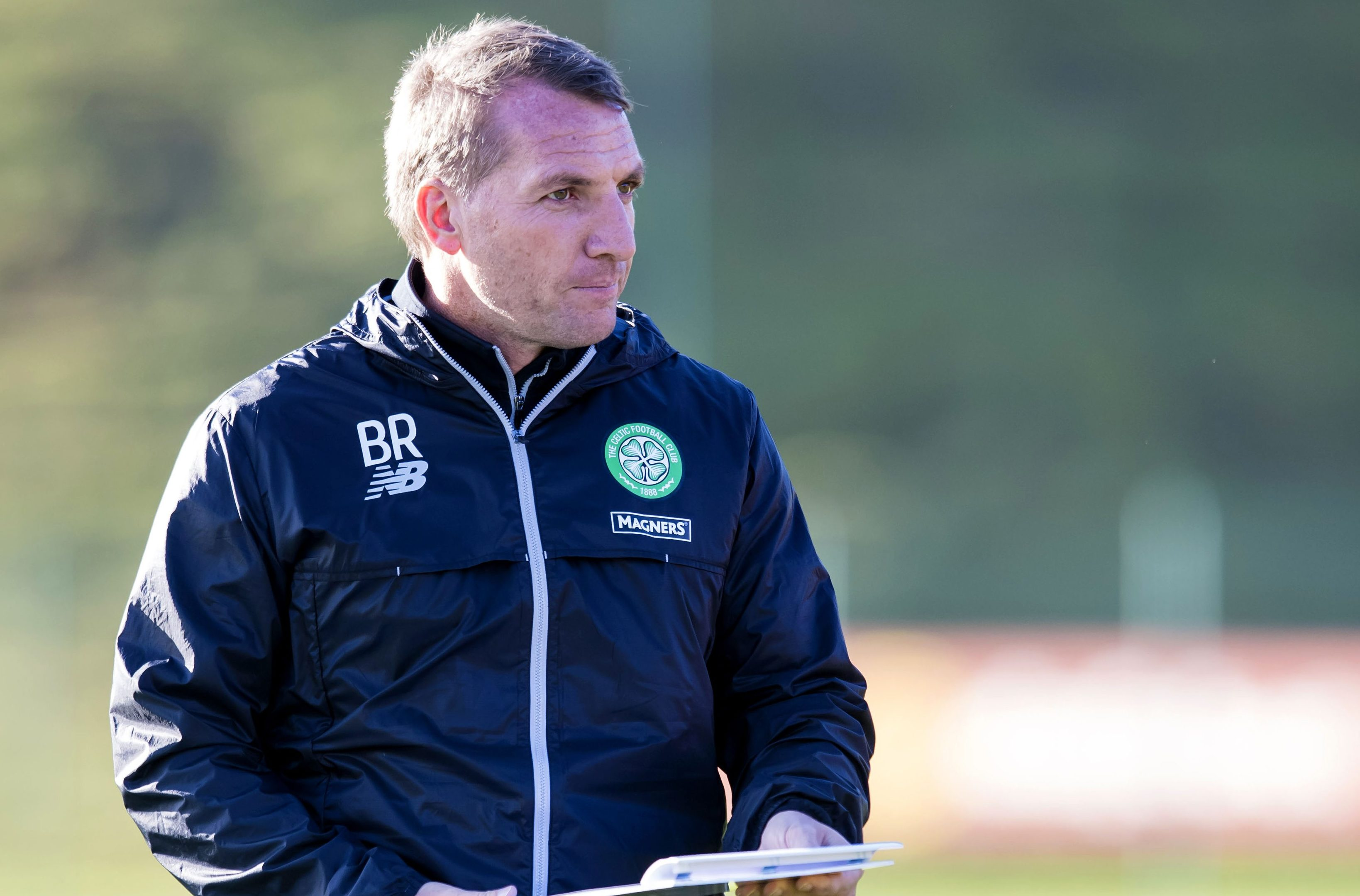 Celtic manager Brendan Rodgers (SNS Group / Craig Williamson)
