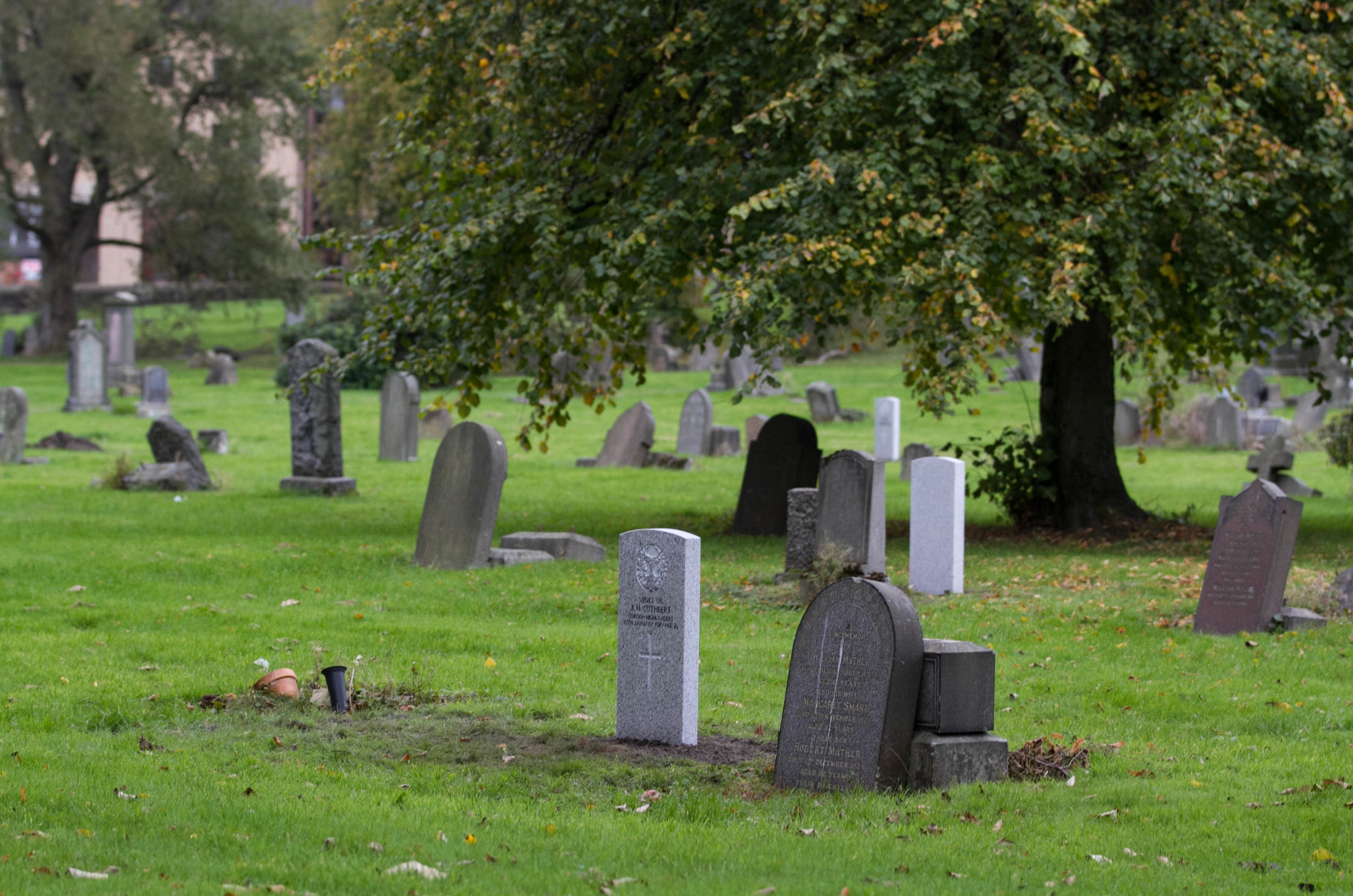 War Graves at Sighthill Cemetery (Chris Austin / DC Thomson)