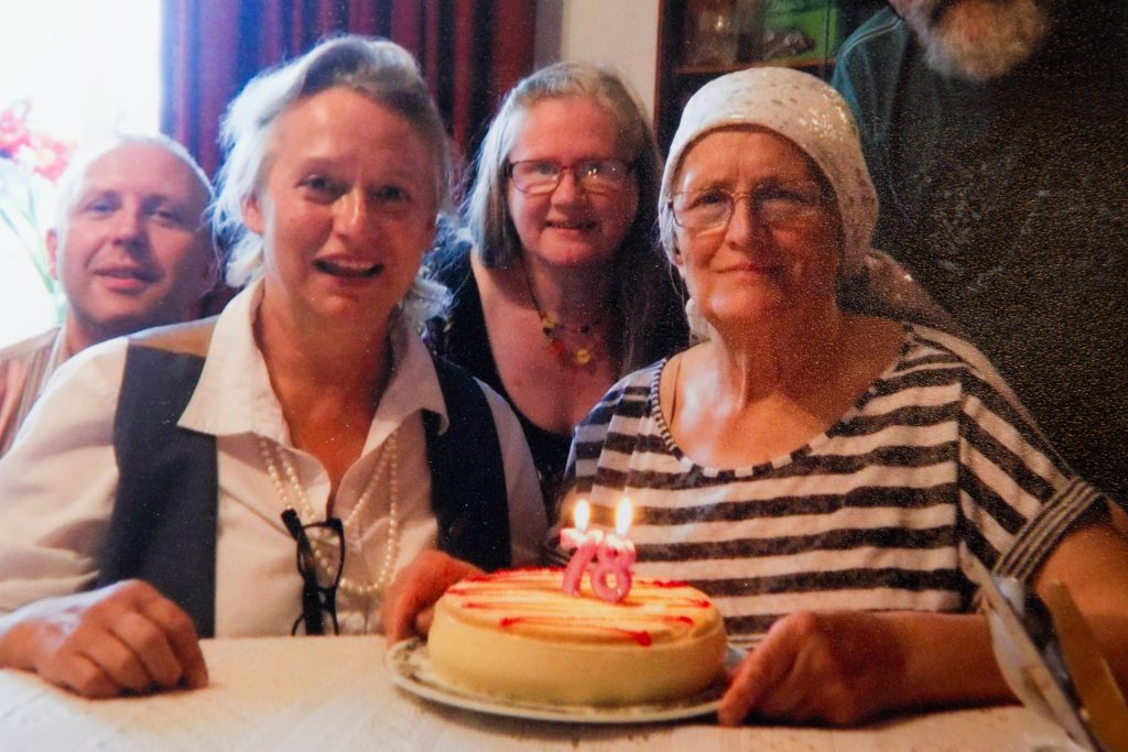 Basia's mother's 78th birthday