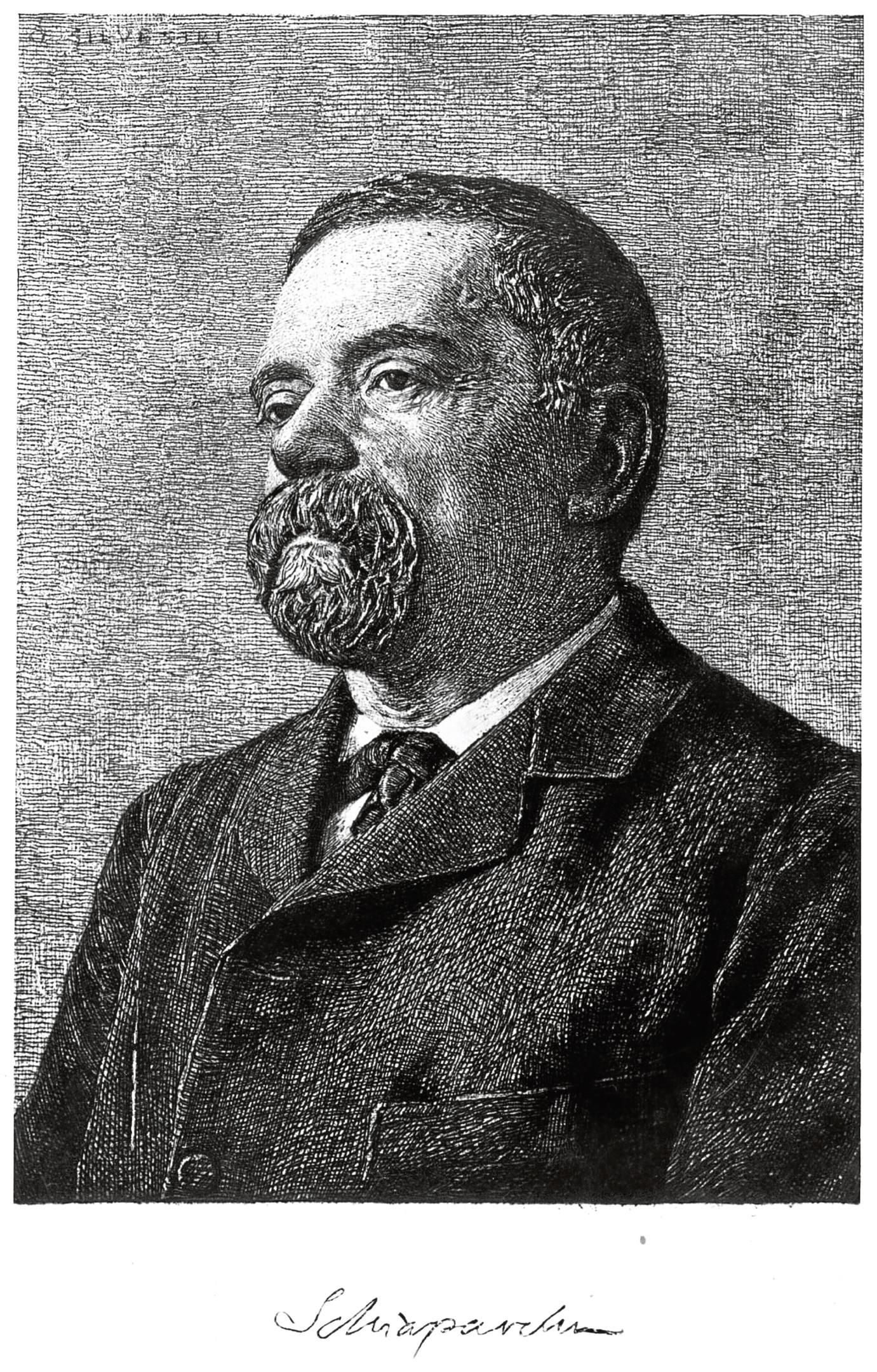 circa 1880: Italian astronomer and senator, Giovanni Virgino Schiaparelli (1835 - 1910). (Photo by Hulton Archive/Getty Images)