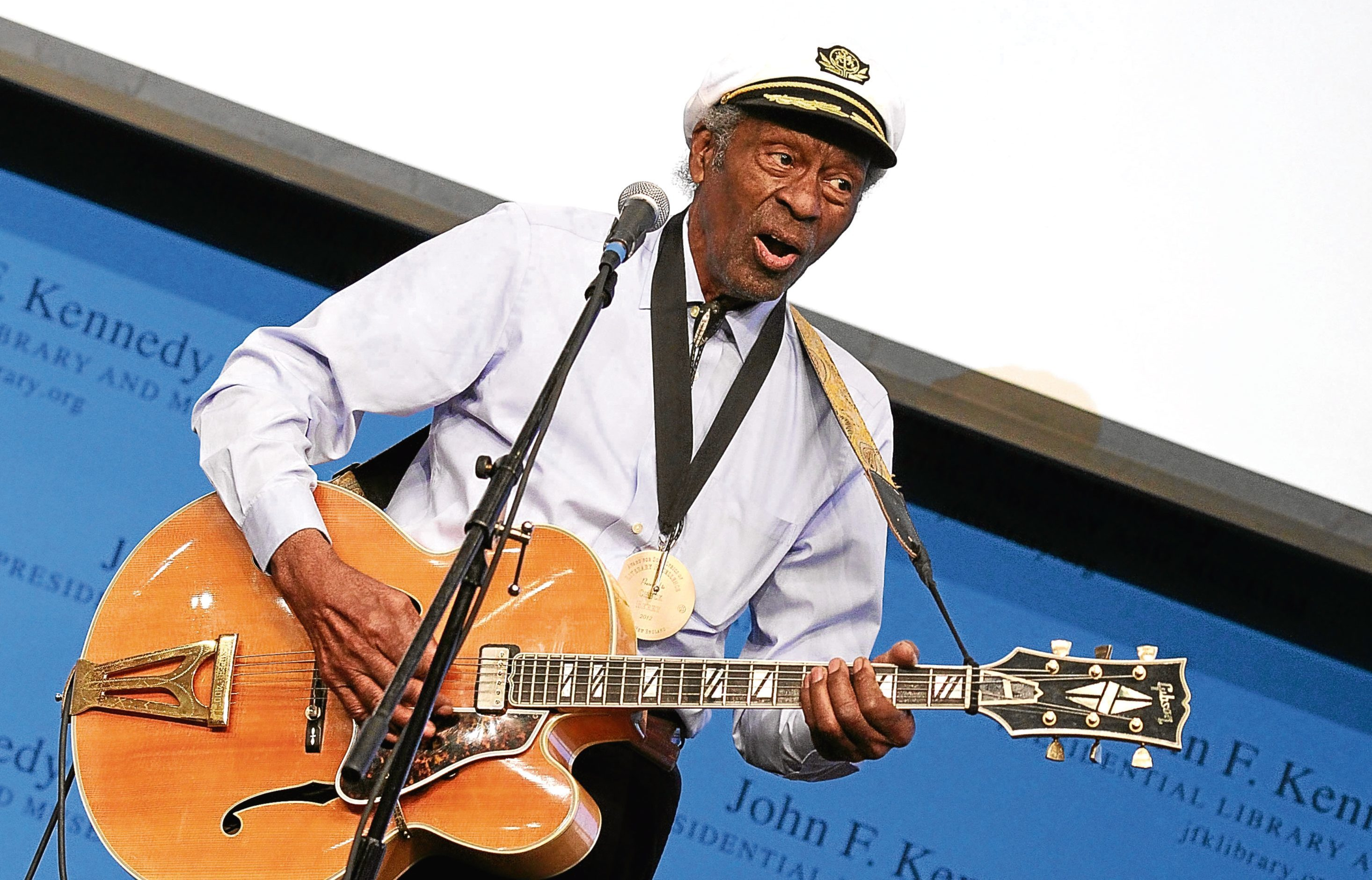 Chuck Berry  (Marc Andrew Deley/Getty Images)