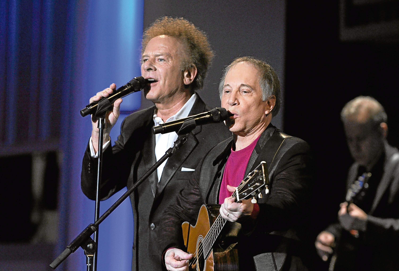 Art Garfunkel and Paul Simon of Simon (Frazer Harrison/Getty Images for AFI)