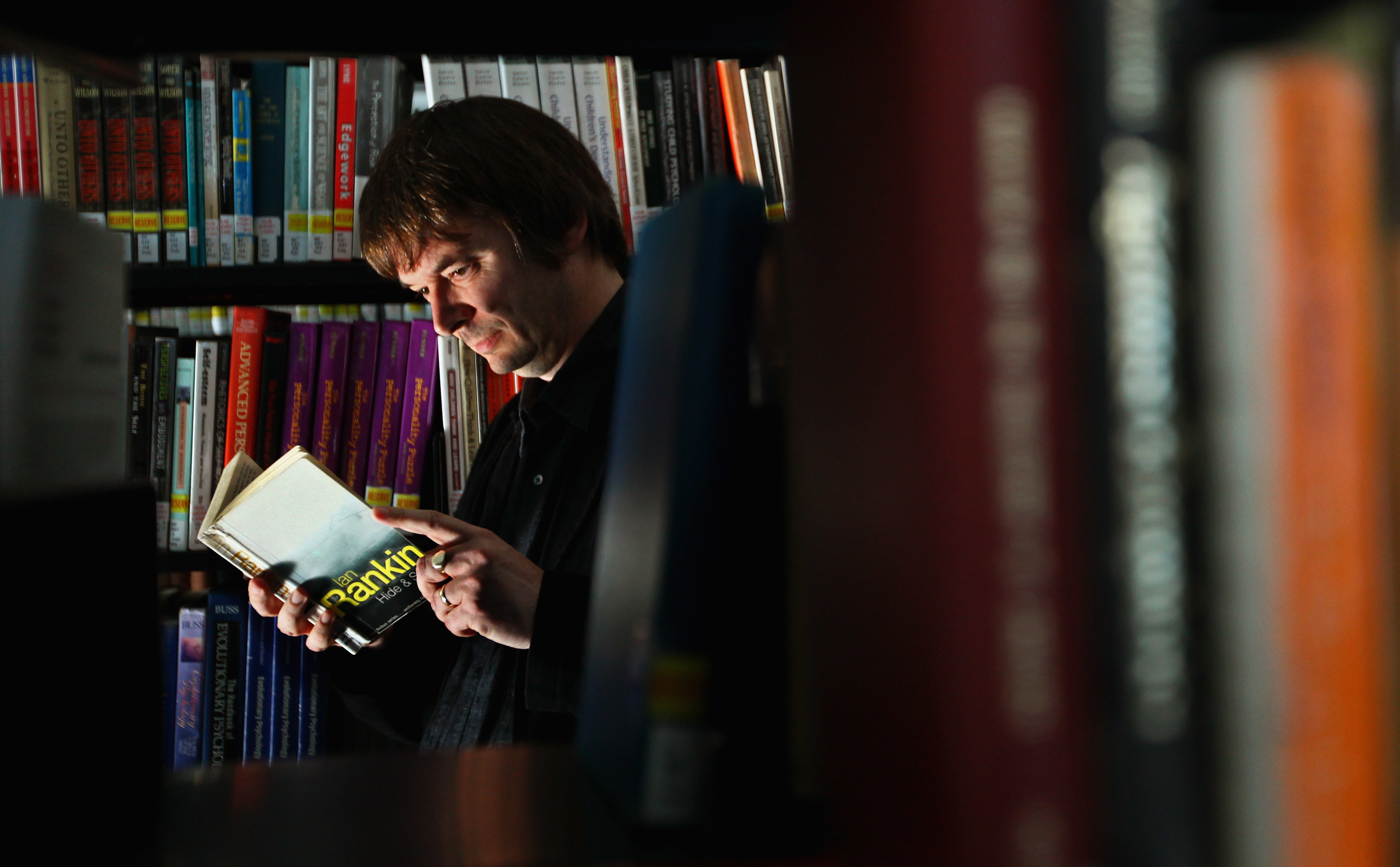 Bestselling crime writer Ian Rankin (Photo by Jeff J Mitchell/Getty Images)