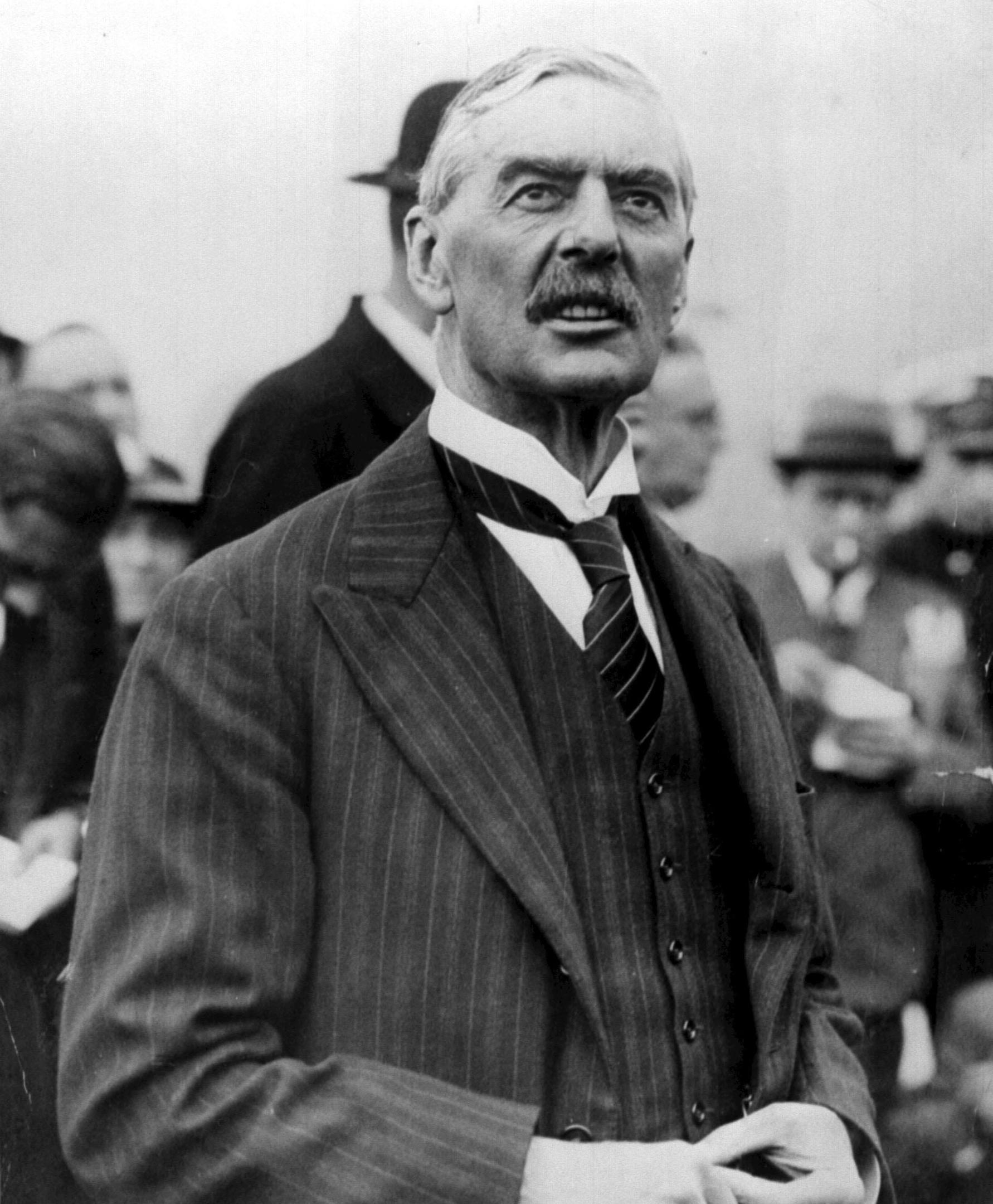 Neville Chamberlain (1869-1940), British Conservative statesman and Prime Minister (1937-1940)