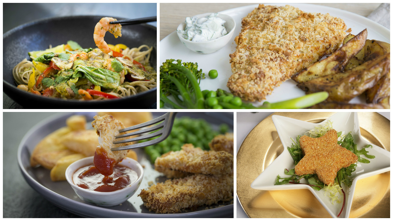 A selection of seafood recipes to enjoy! (Seafish)