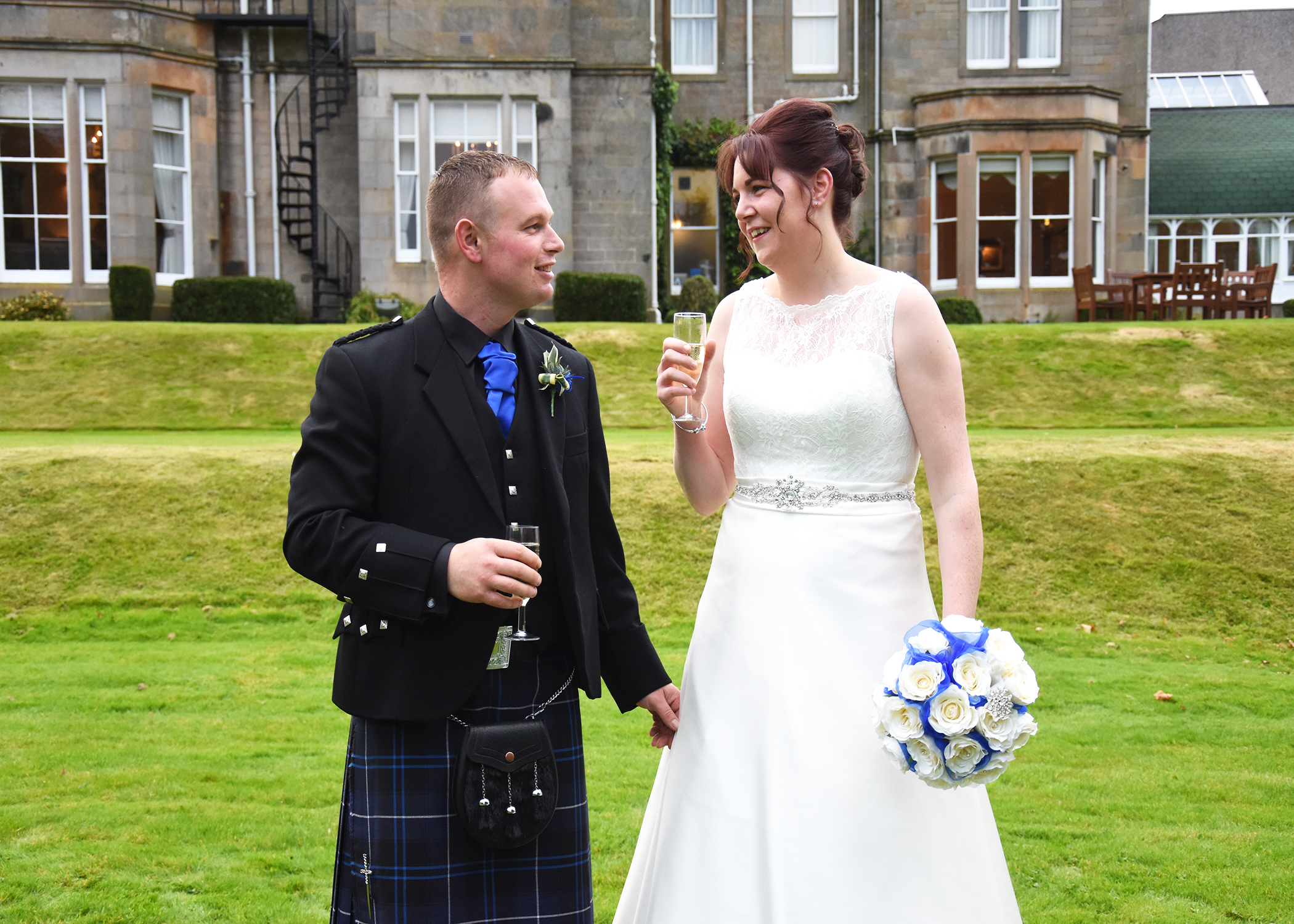 Leanne and Stuart McSherry from Dumfries (Darren Wyllie Photography)