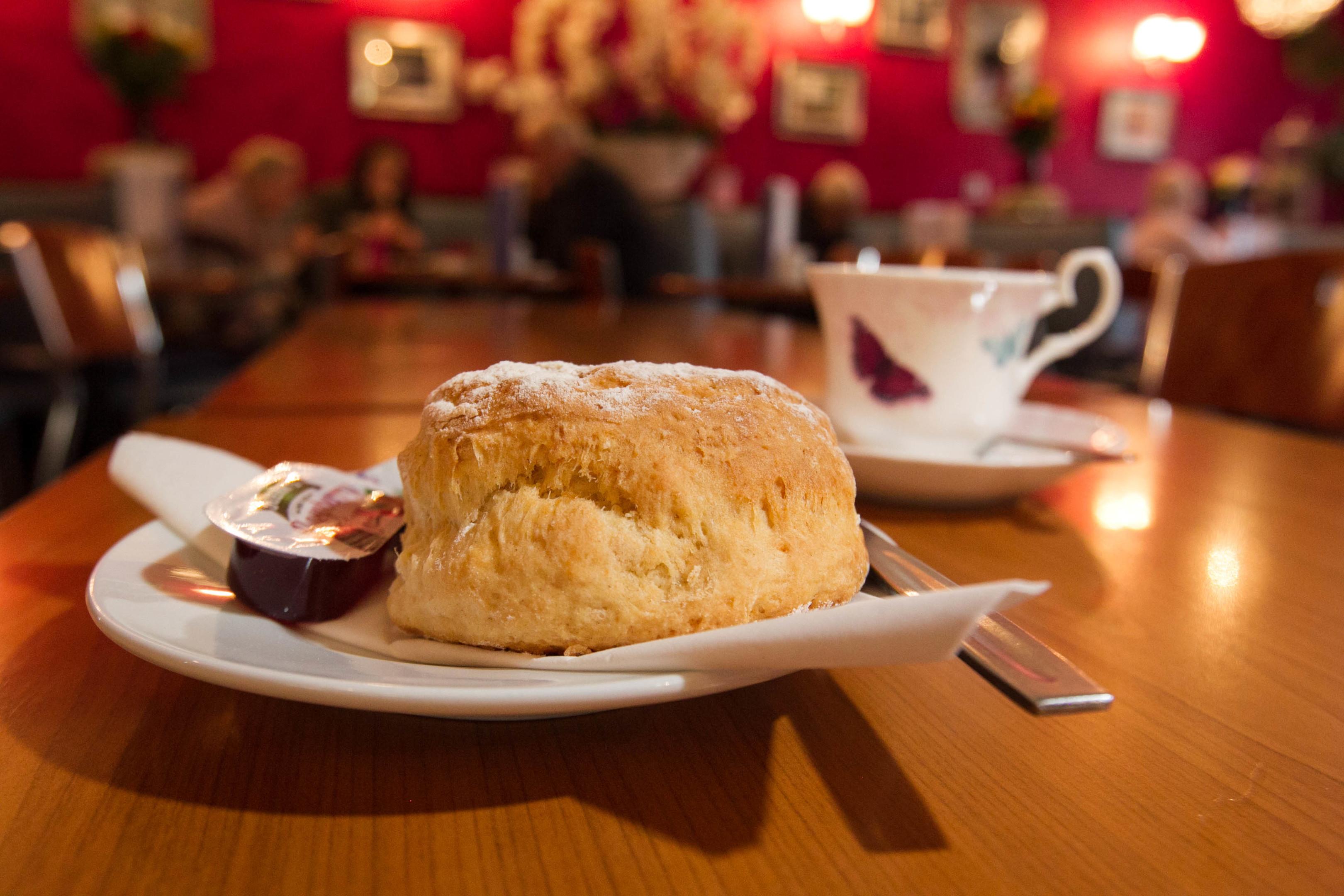 Cafe 91, Lockerbie (C Austin/DC Thomson)