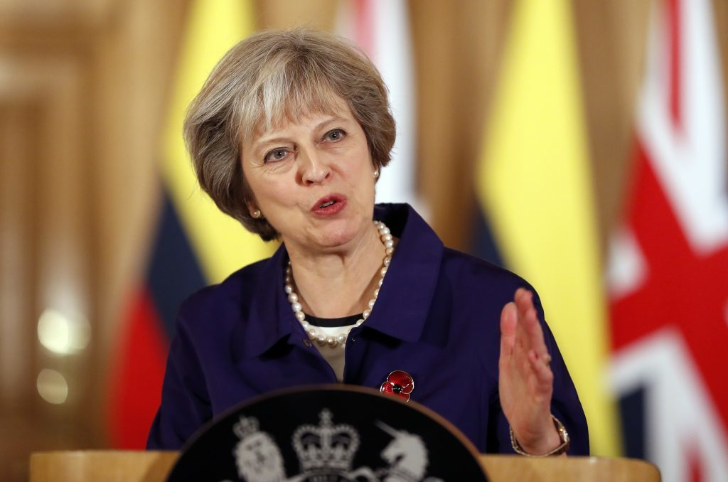 Theresa May can't trigger Brexit without Parliament vote