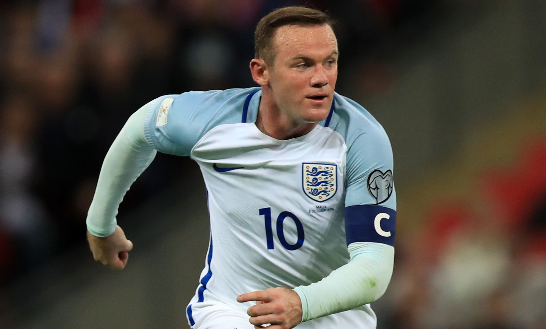 Rooney in action for England (Mike Egerton/PA Wire)