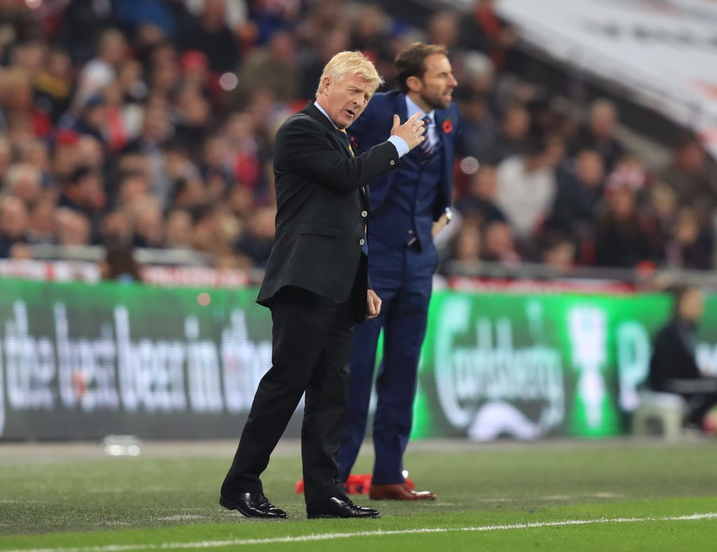 Scotland manager Gordon Strachan on the touchline (Mike Egerton/PA Wire)