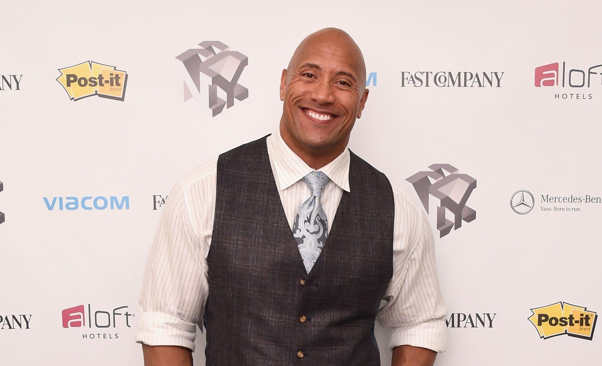 "Dwayne ""The Rock"" Johnson (Ilya S. Savenok/Getty Images for Fast Company)"