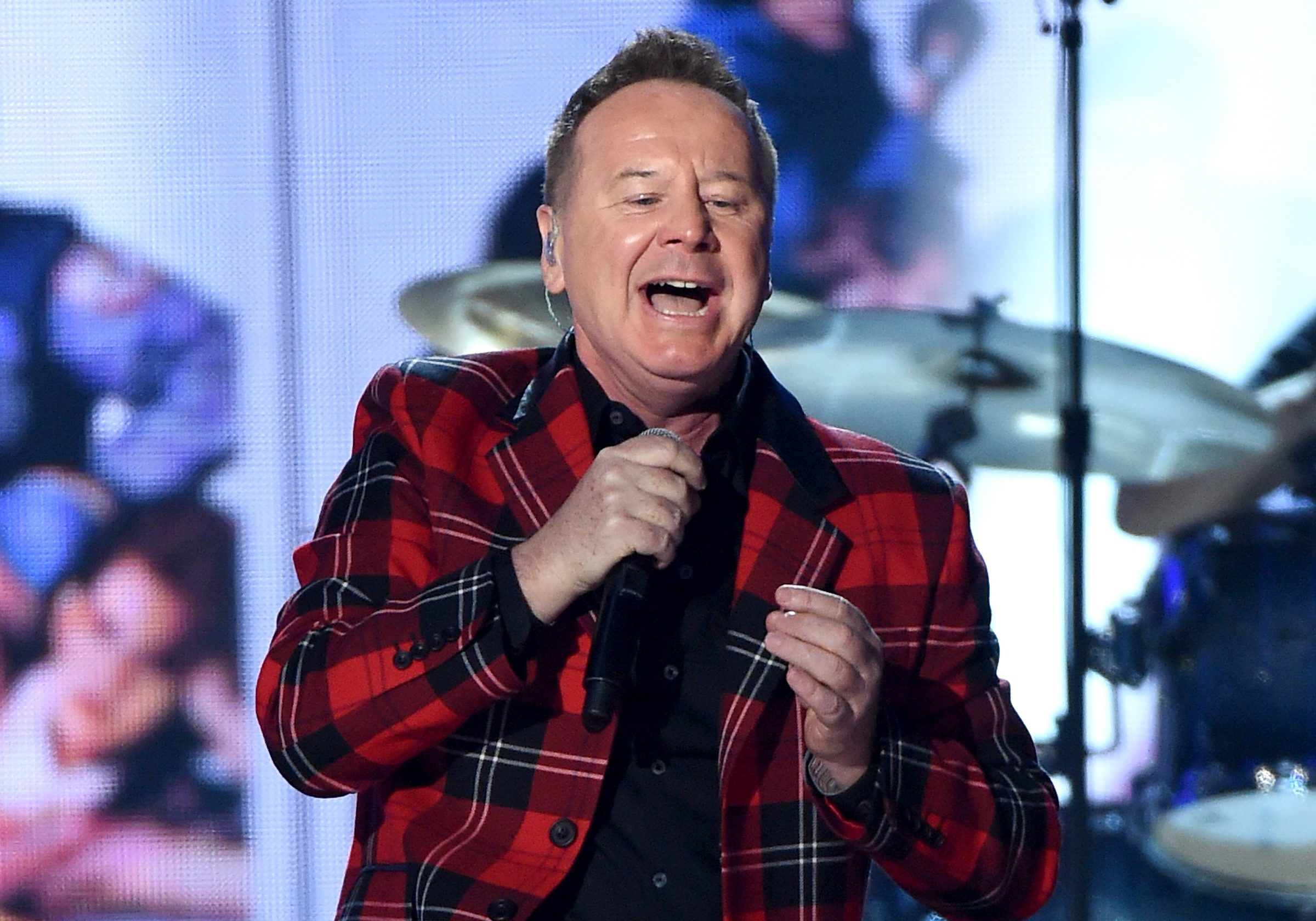 Singer James Kerr of Simple Minds (Photo by Ethan Miller/Getty Images)