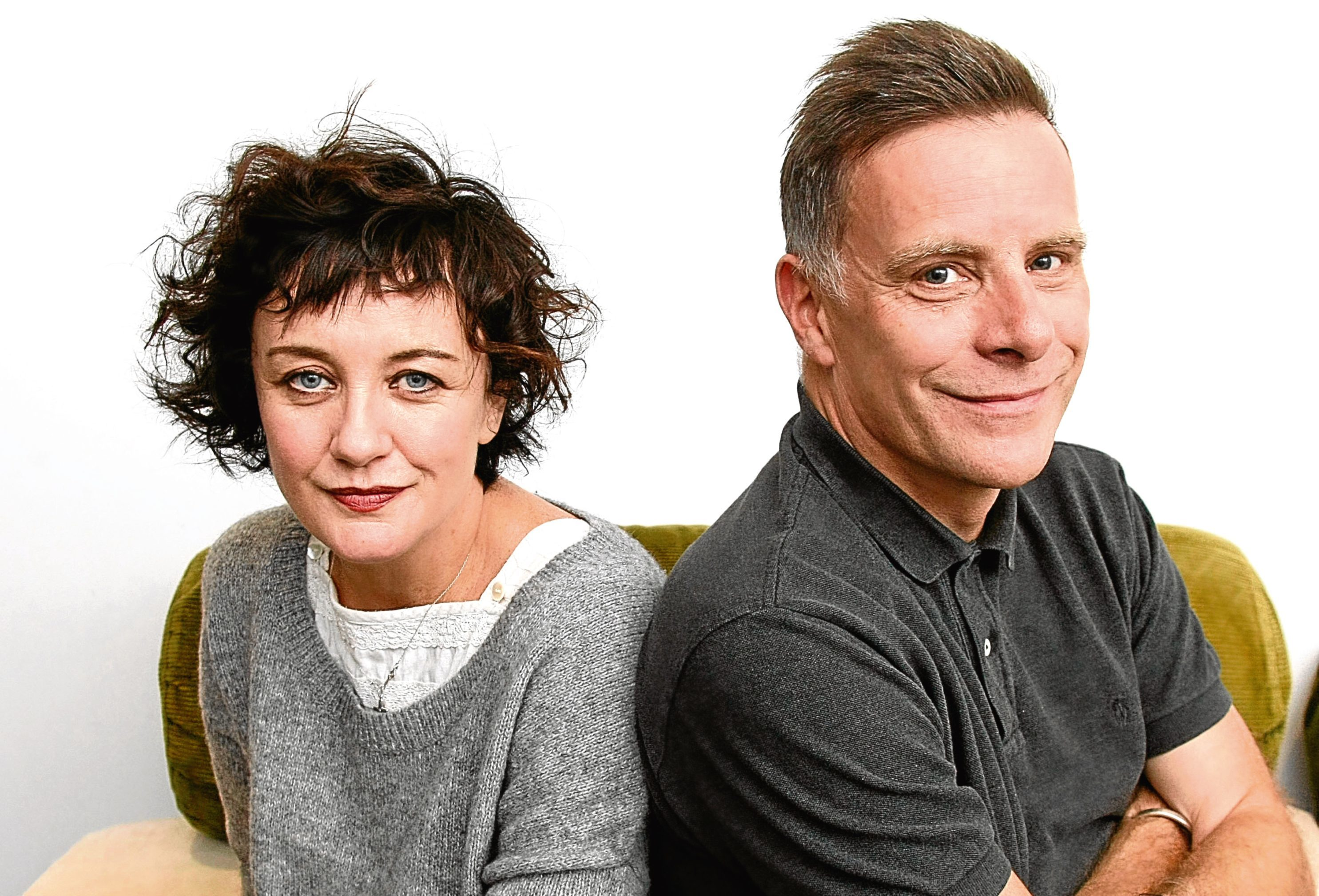 Lorraine McIntosh and Ricky Ross of of Deacon Blue (Garry F McHarg)