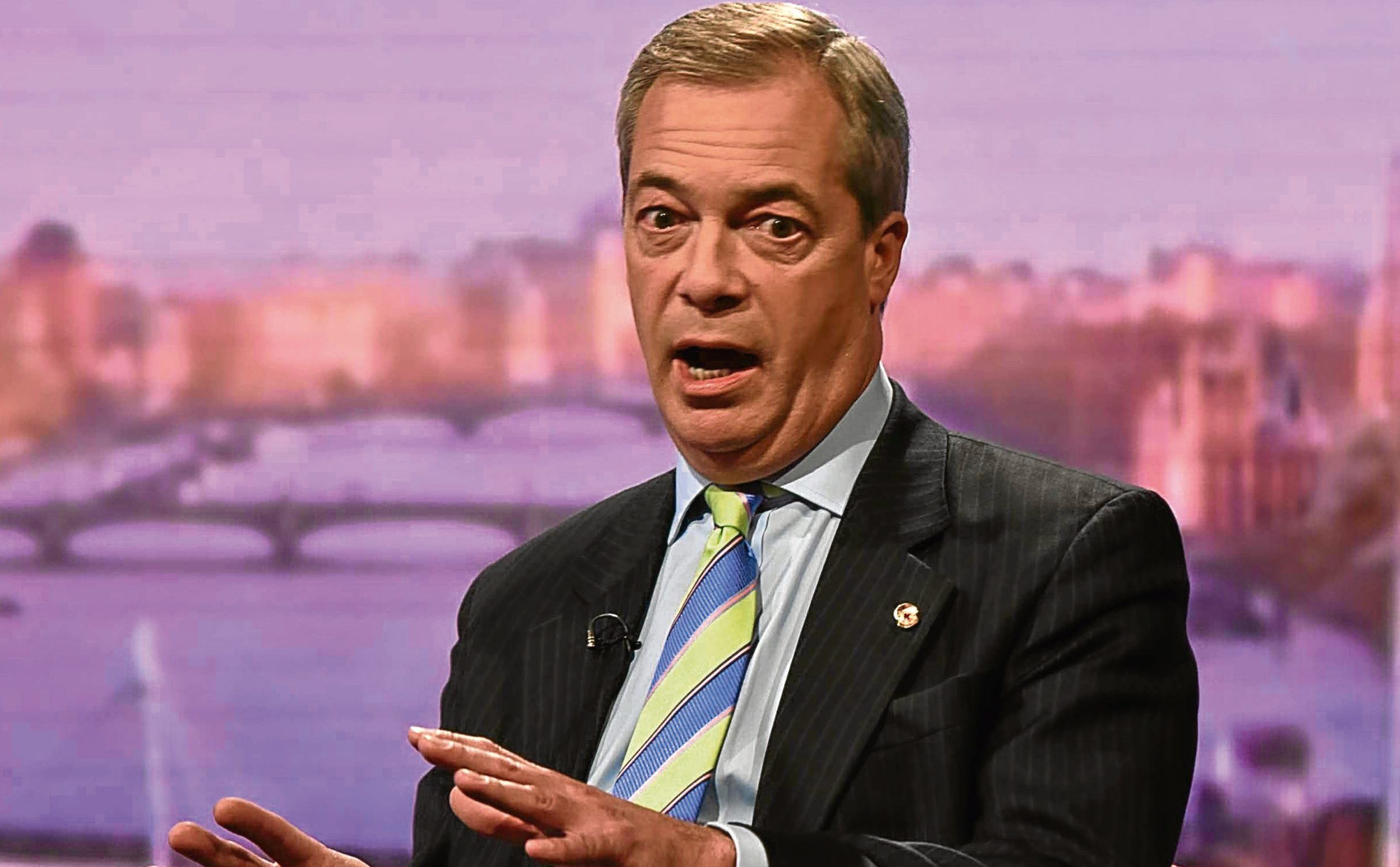 Nigel Farage (Jeff Overs/BBC/PA Wire)
