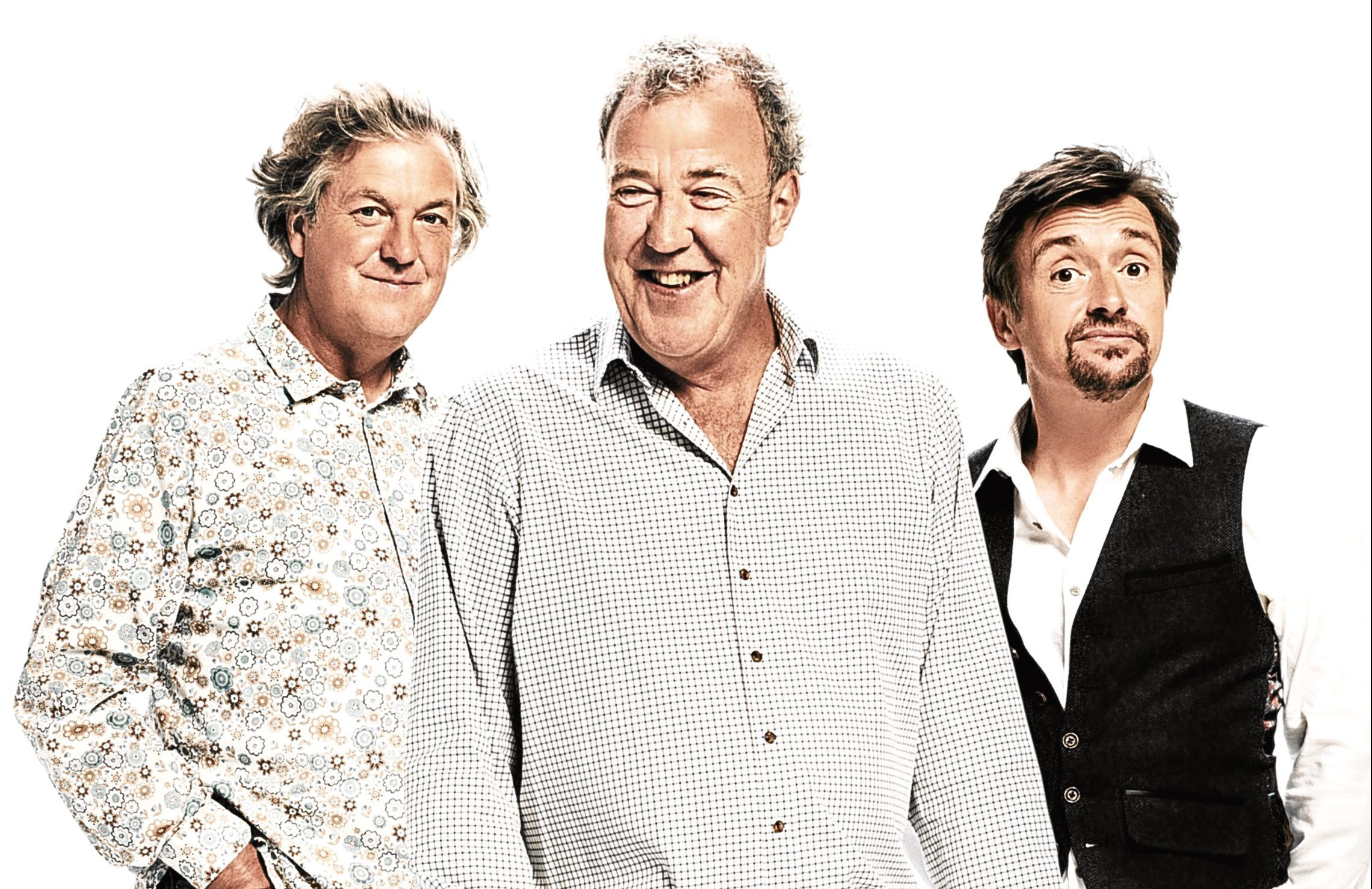 James May, Jeremy Clarkson and Richard Hammond in The Grand Tour