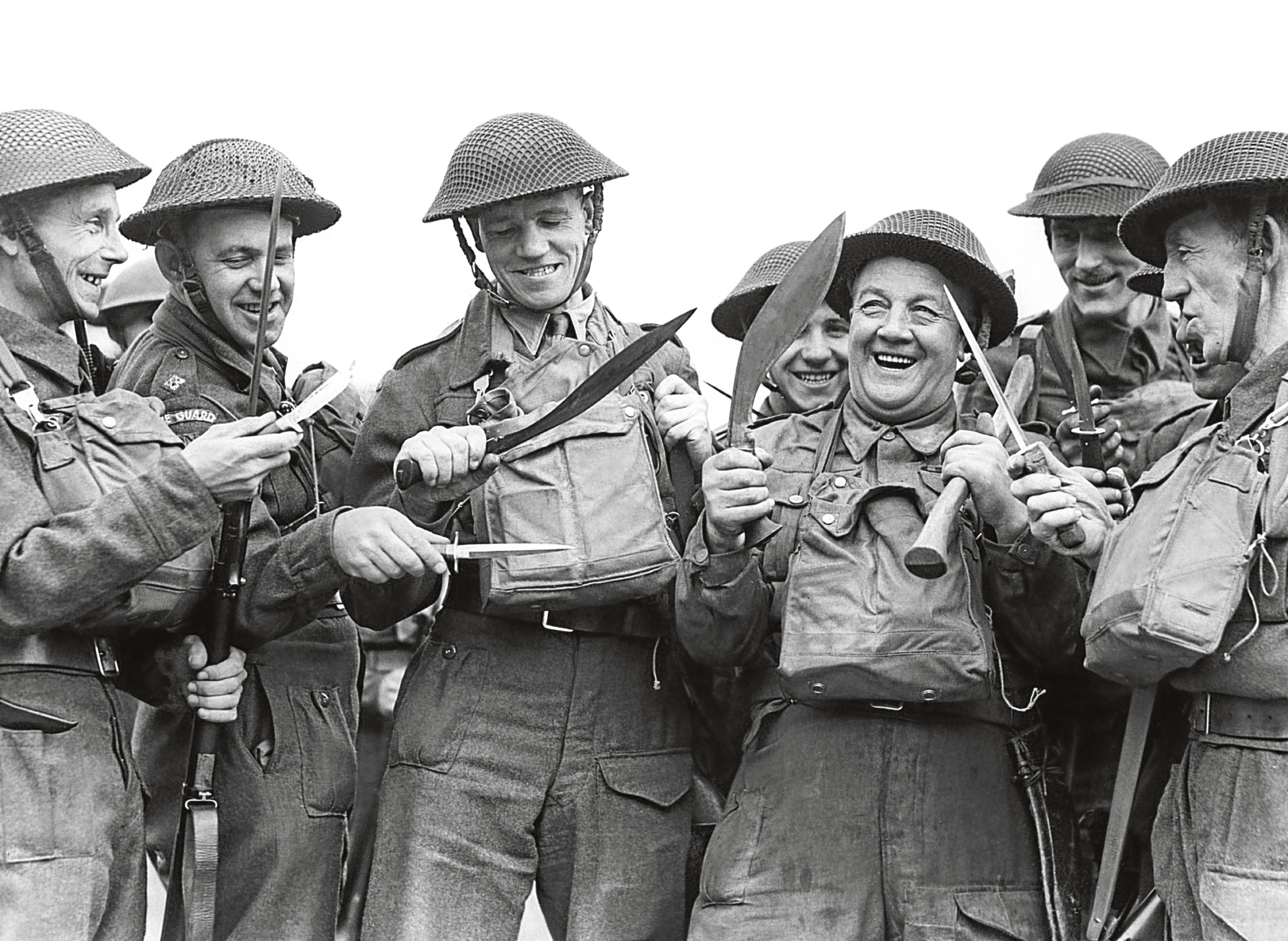Members of the Home Guard, circa 1942 (Fox Photos/Hulton Archive/Getty Images)