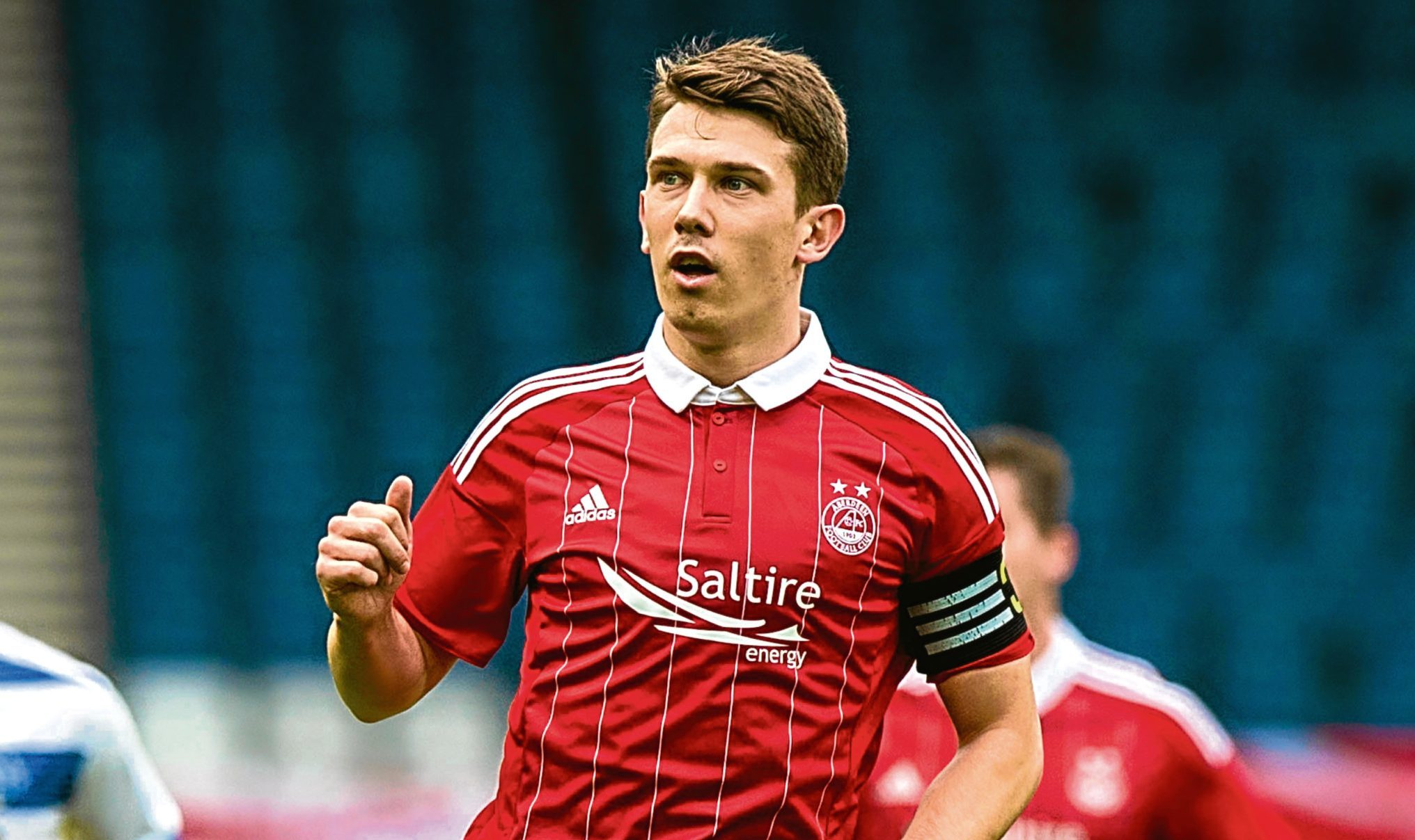 Ryan Jack in action for Aberdeen (SNS Group)
