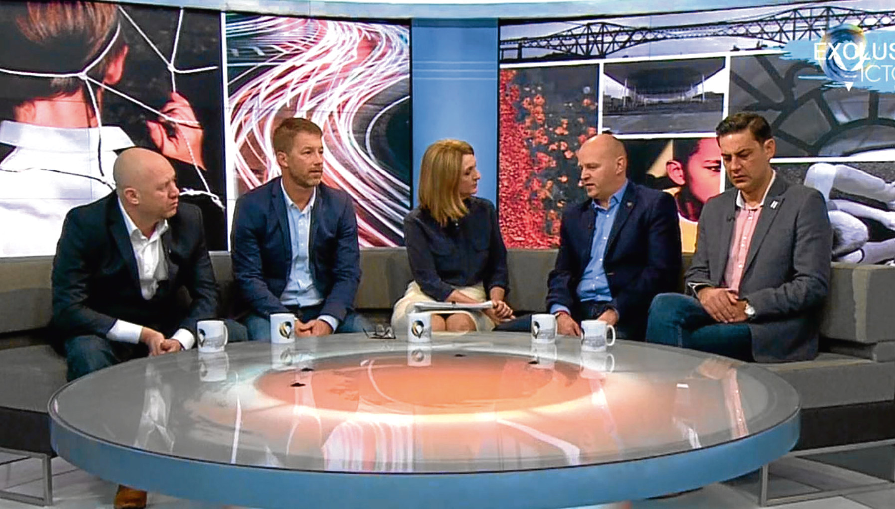 Four footballers who claim to have been sexually abused by Barry Bennell appeared on TV to talk about their experiences (BBC)