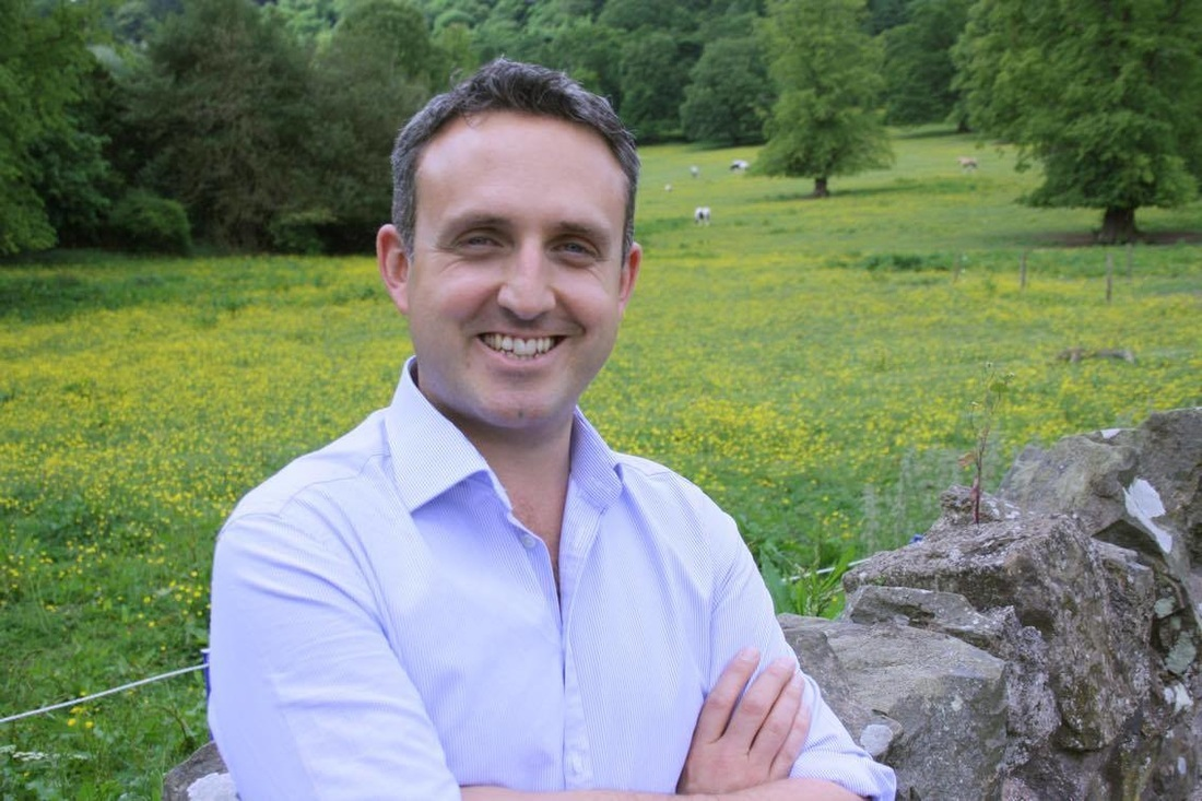 Alex Cole-Hamilton, Liberal Democrat MSP for the constituency of Edinburgh Western