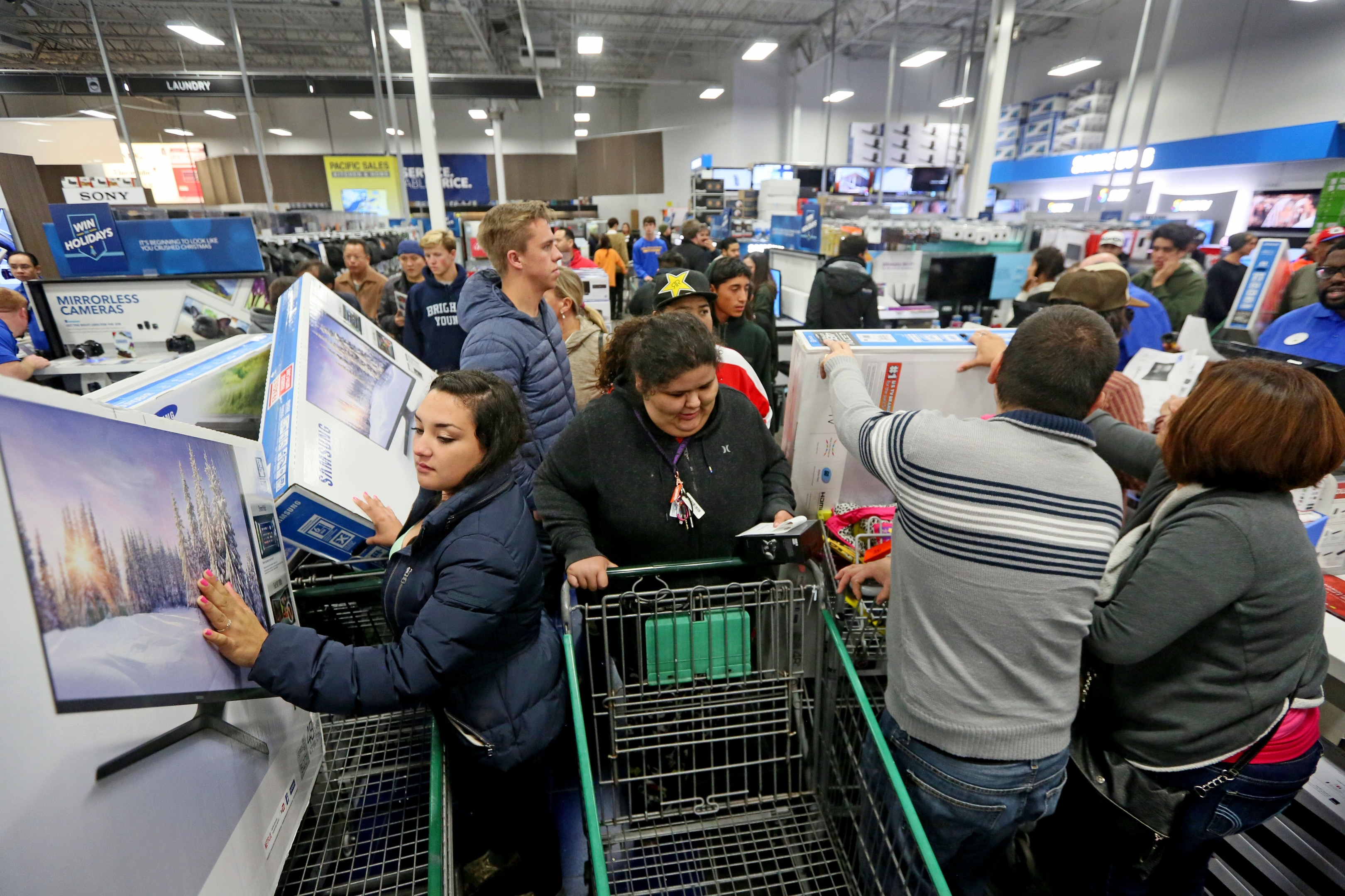 Black Friday (Photo by Sandy Huffaker/Getty Images)