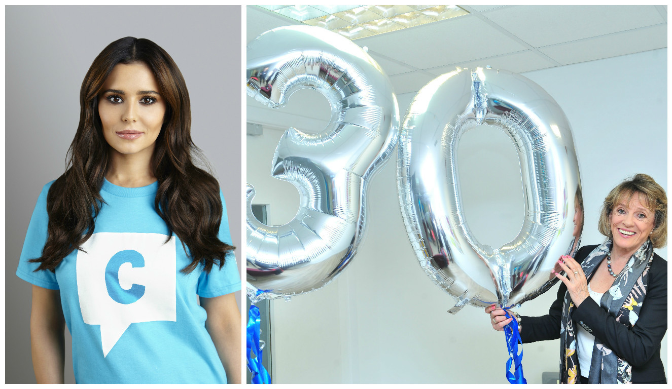 Cheryl is supporting the charity which celebrates its 30th anniversary this year (NSPCC & JULIE HOWDEN/PA Wire)