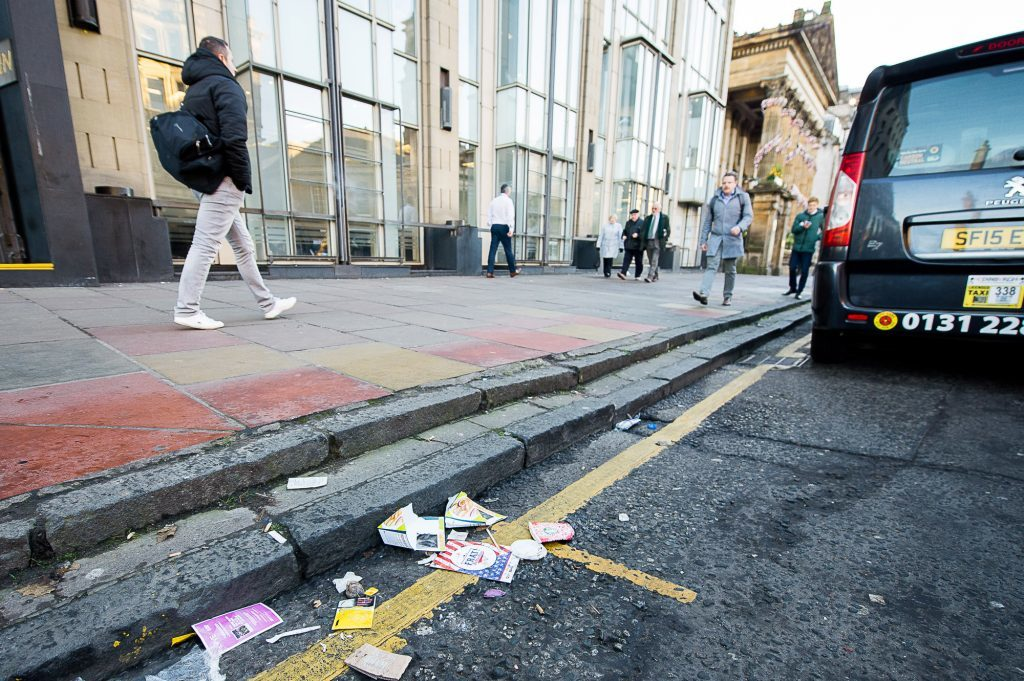 Litter (Wullie Marr/DEADLINE NEWS)