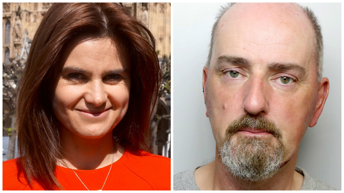 (Jo Cox Foundation/PA Wire & West Yorkshire Police)