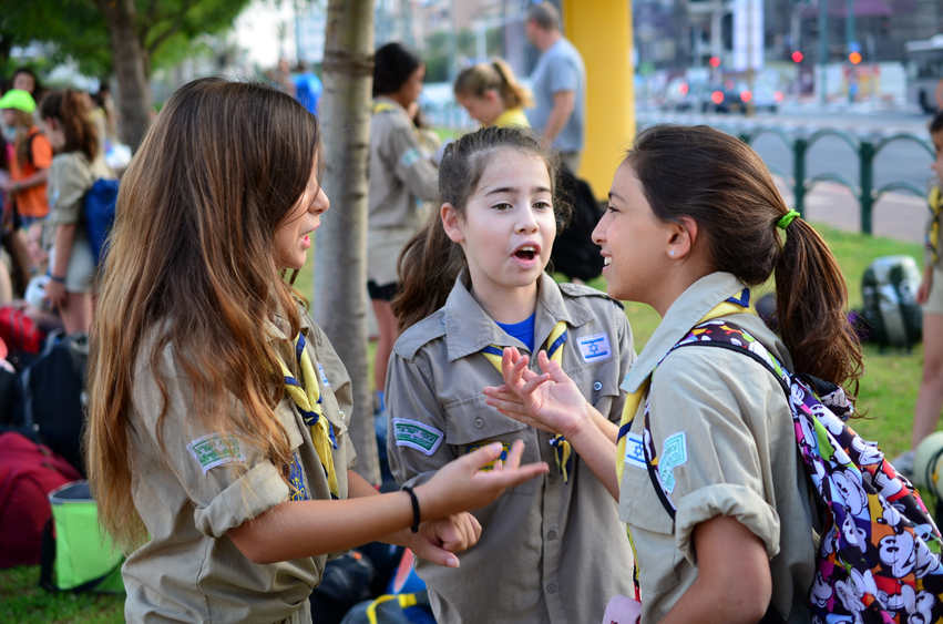 Scouts/ Girl Guides (Getty)