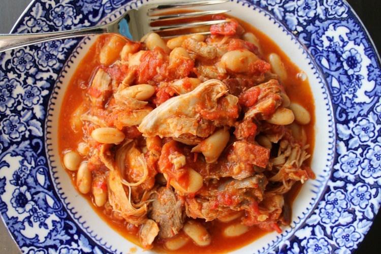 Chicken and Chorizo stew (A Scots Larder/ Graeme Taylor)