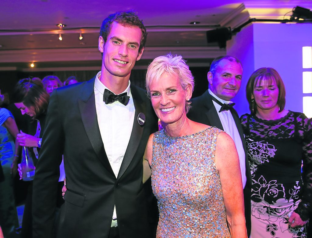 Andy Murray with mum Judy  (Julian Finney/Getty Images)