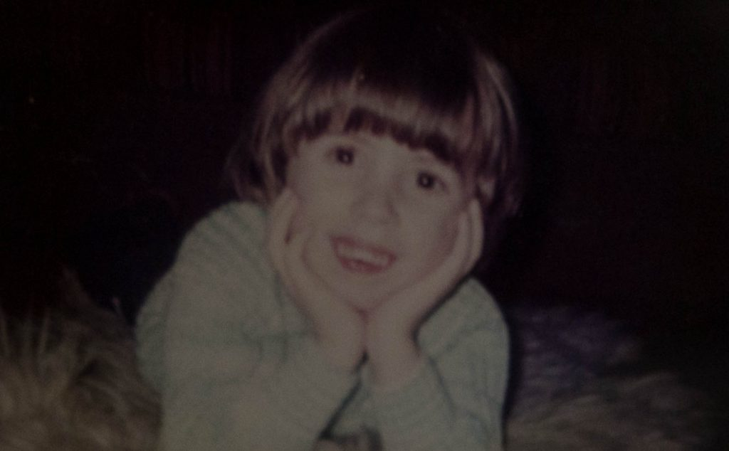Emma as a child