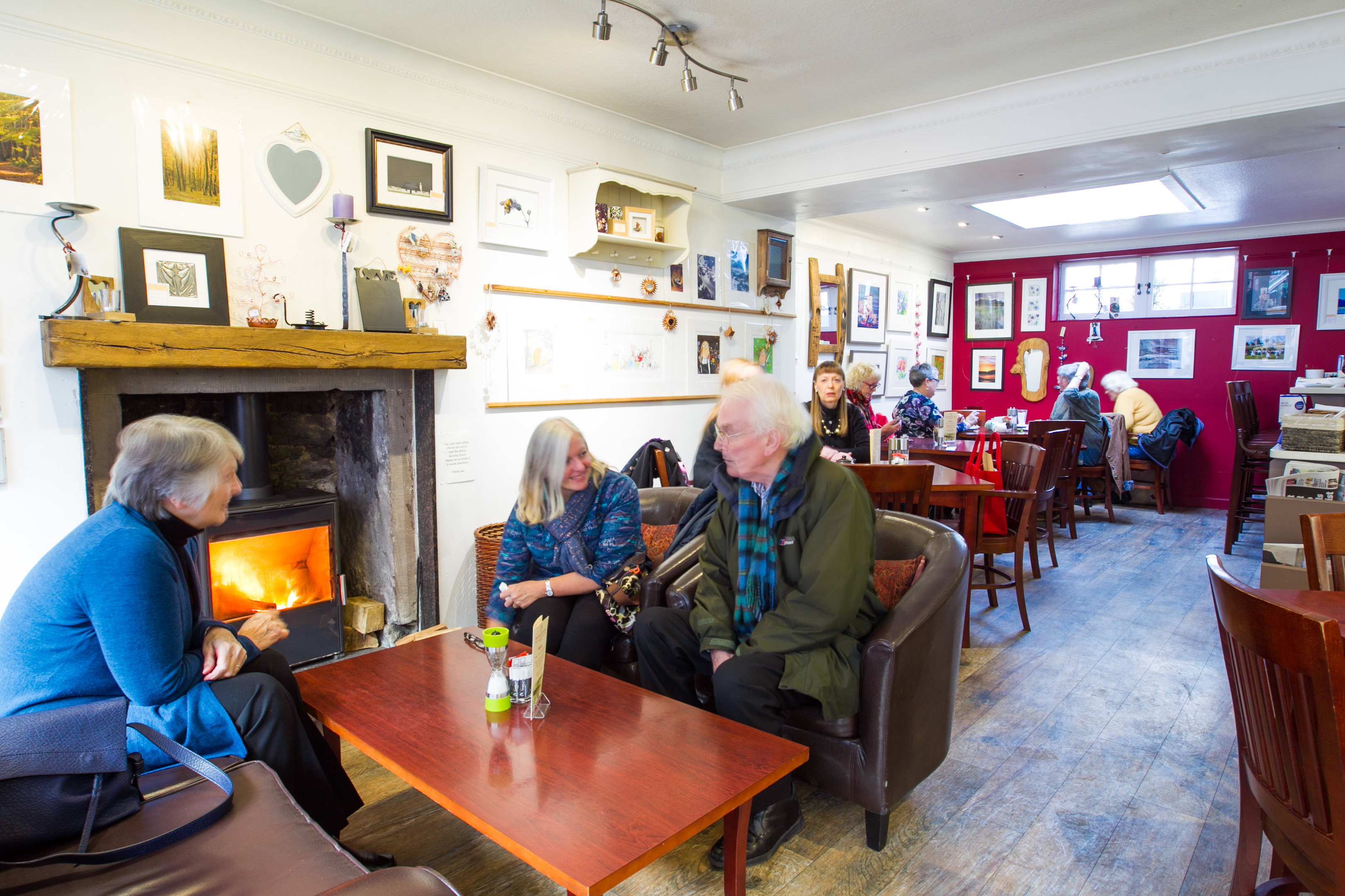 Red Squirrel Cafe, in Crieff (Andrew Cawley_
